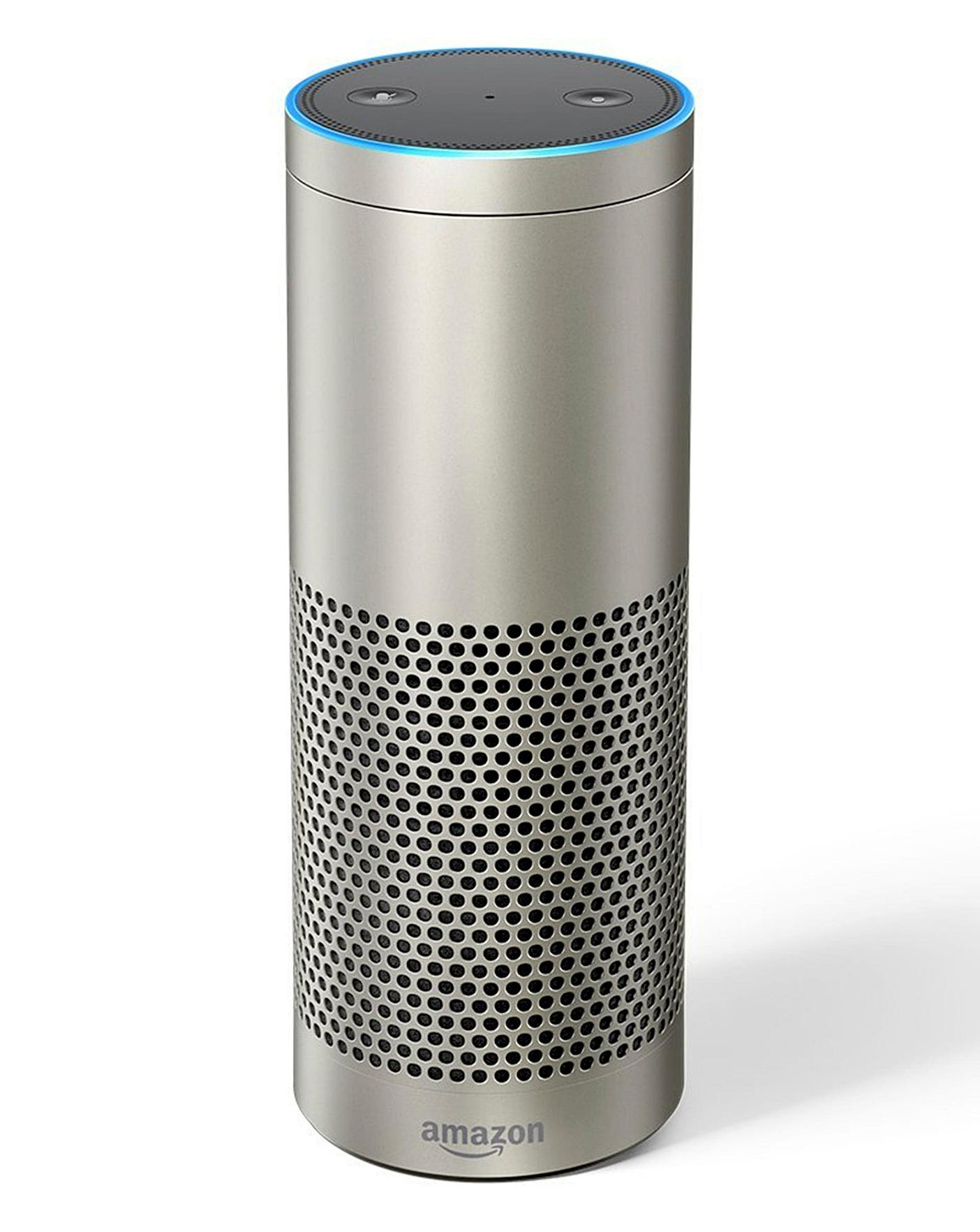 Amazon Echo Plus Silver With Alexa
