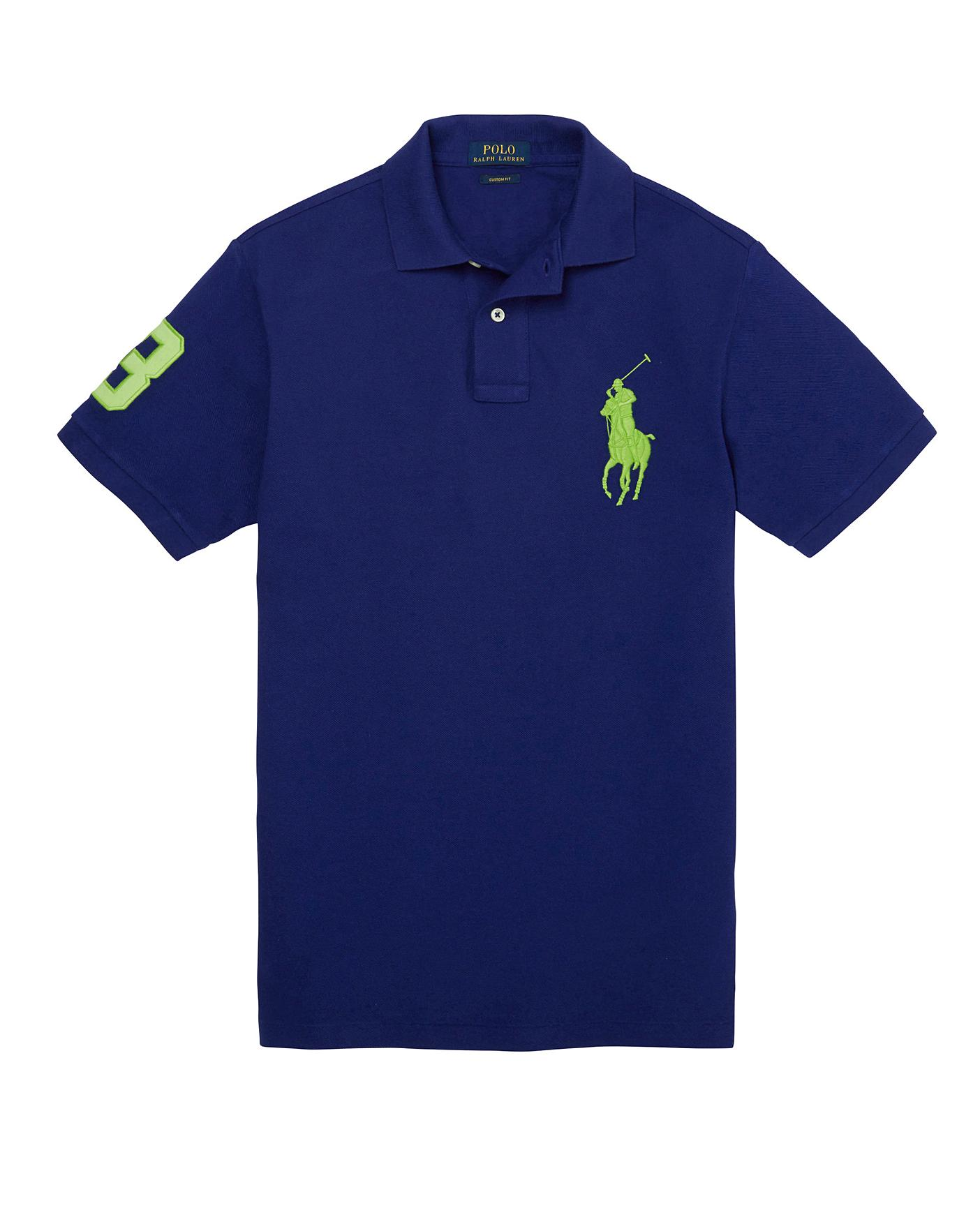 Polo Ralph Lauren New Kids Children/'s Big Pony Short Sleeve Polo Shirts