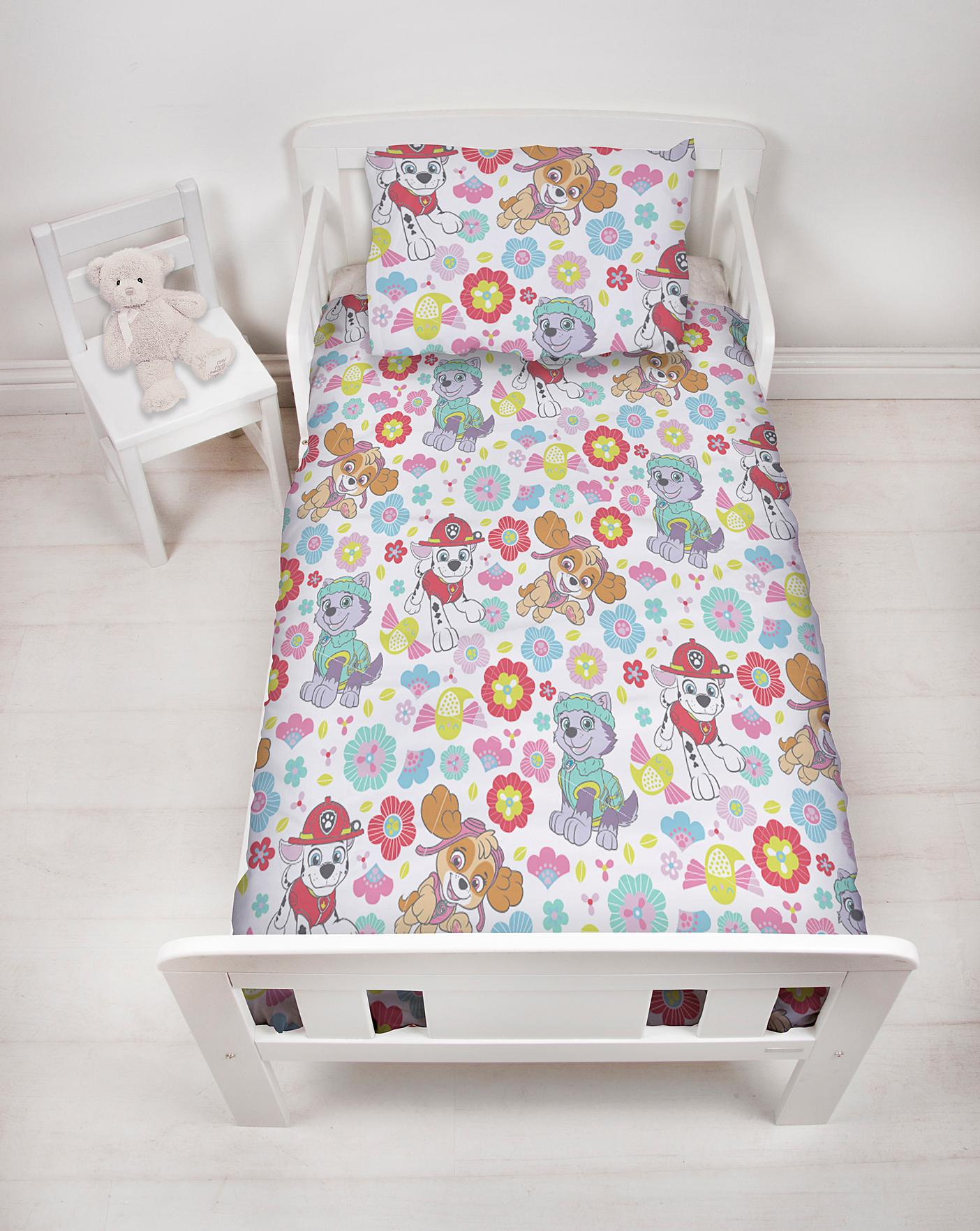 Paw Patrol Bright Junior Bed Bundle