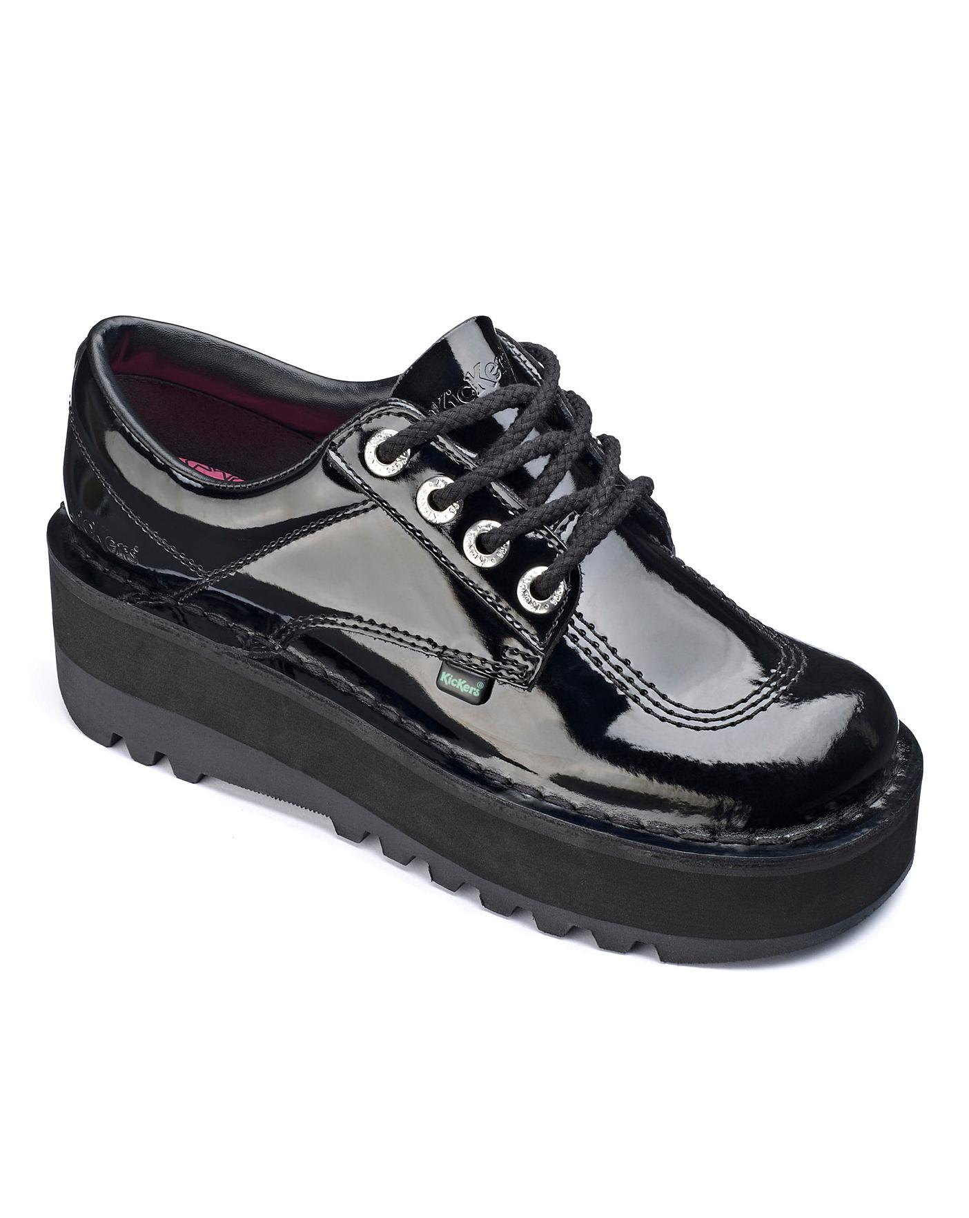 Kickers Lace Up Shoes D Fit | Oxendales