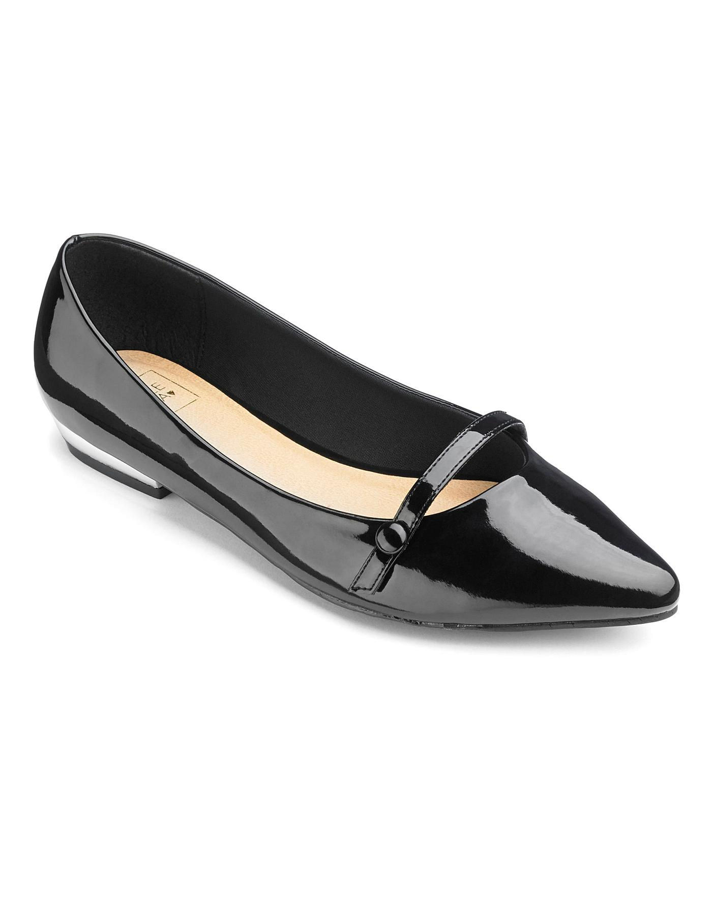Sole Diva Mary Jane Shoes EEE Fit