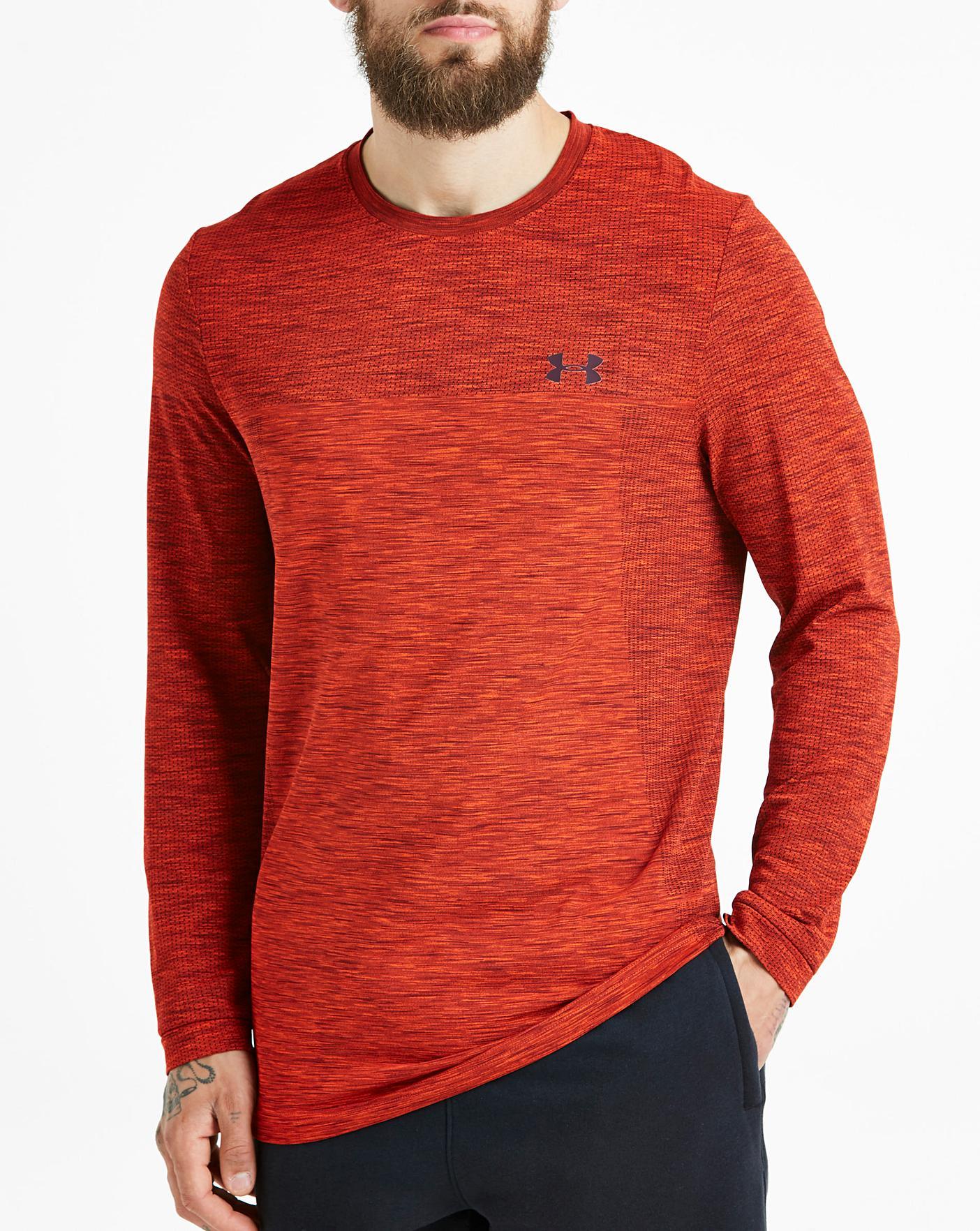 zapatillas brillante n color más popular Under Armour Siphon Long Sleeve T-Shirt | Jacamo