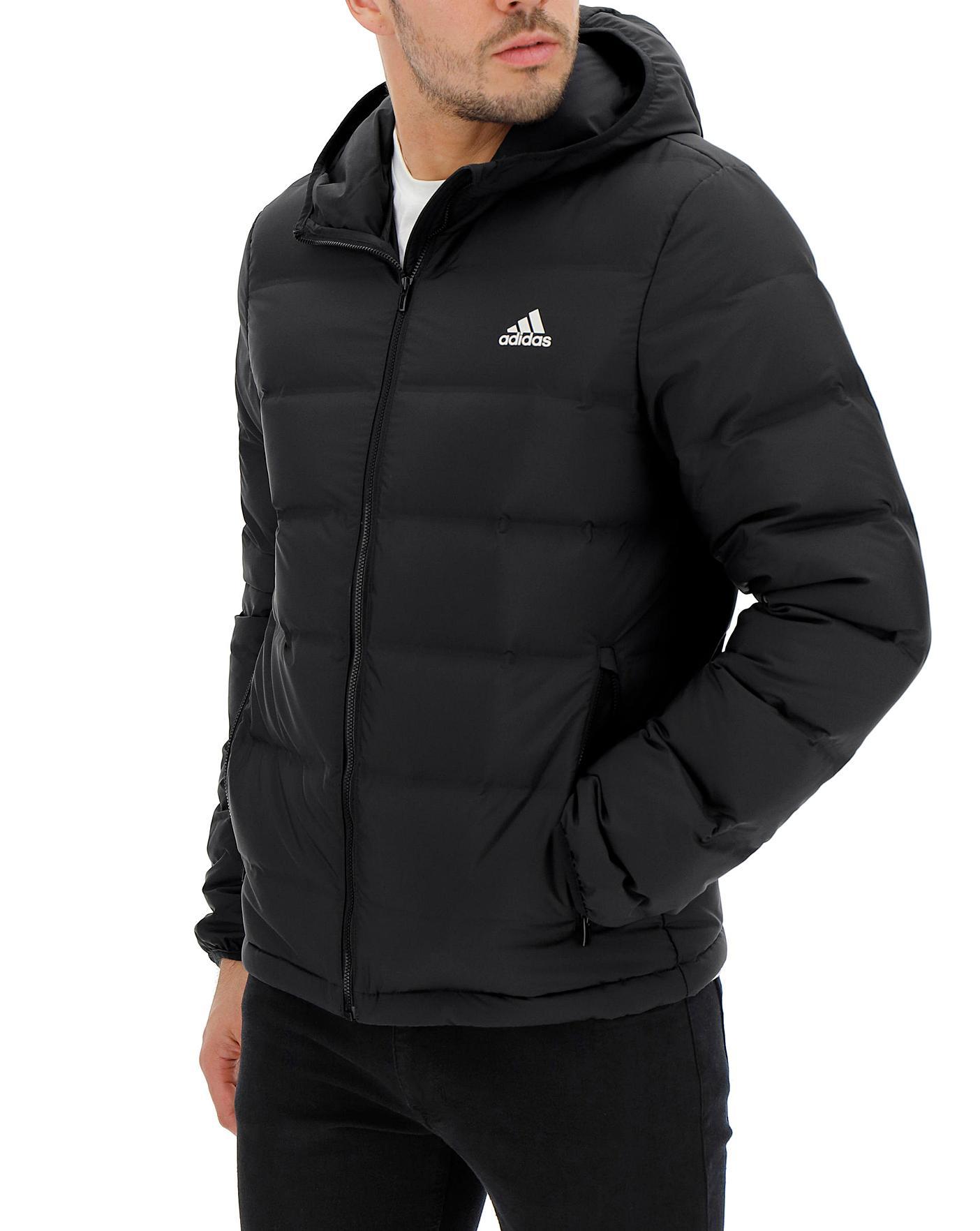 Integrar Leer cuenco  adidas Helionic Hooded Jacket | Jacamo