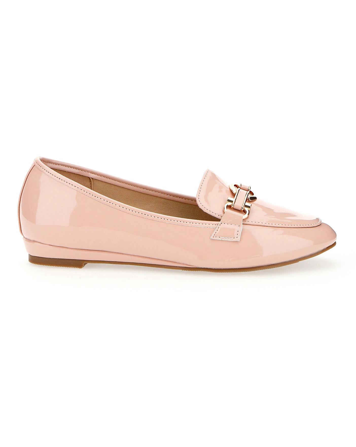 Low Wedge Loafers EEE Fit | J D Williams