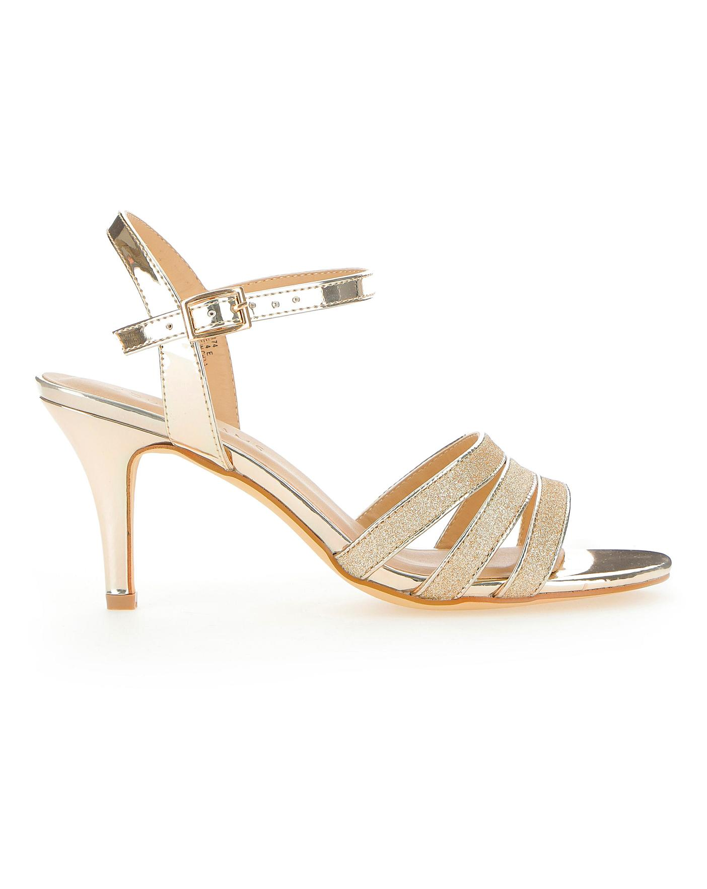 Strappy Occasion Sandals EEE Fit | J D