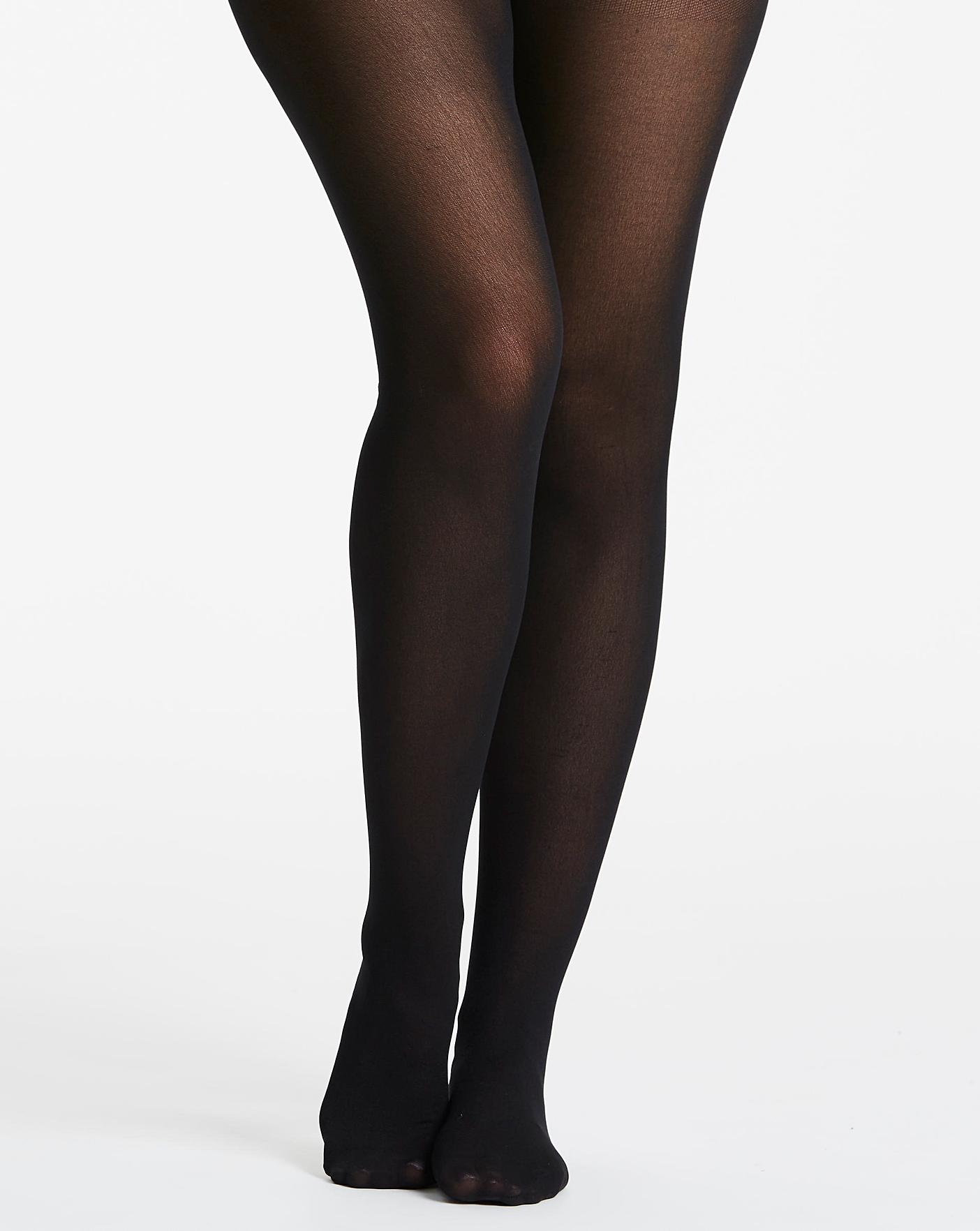 ee2794ba72f 2 Pack 60 Denier Opaque Tights