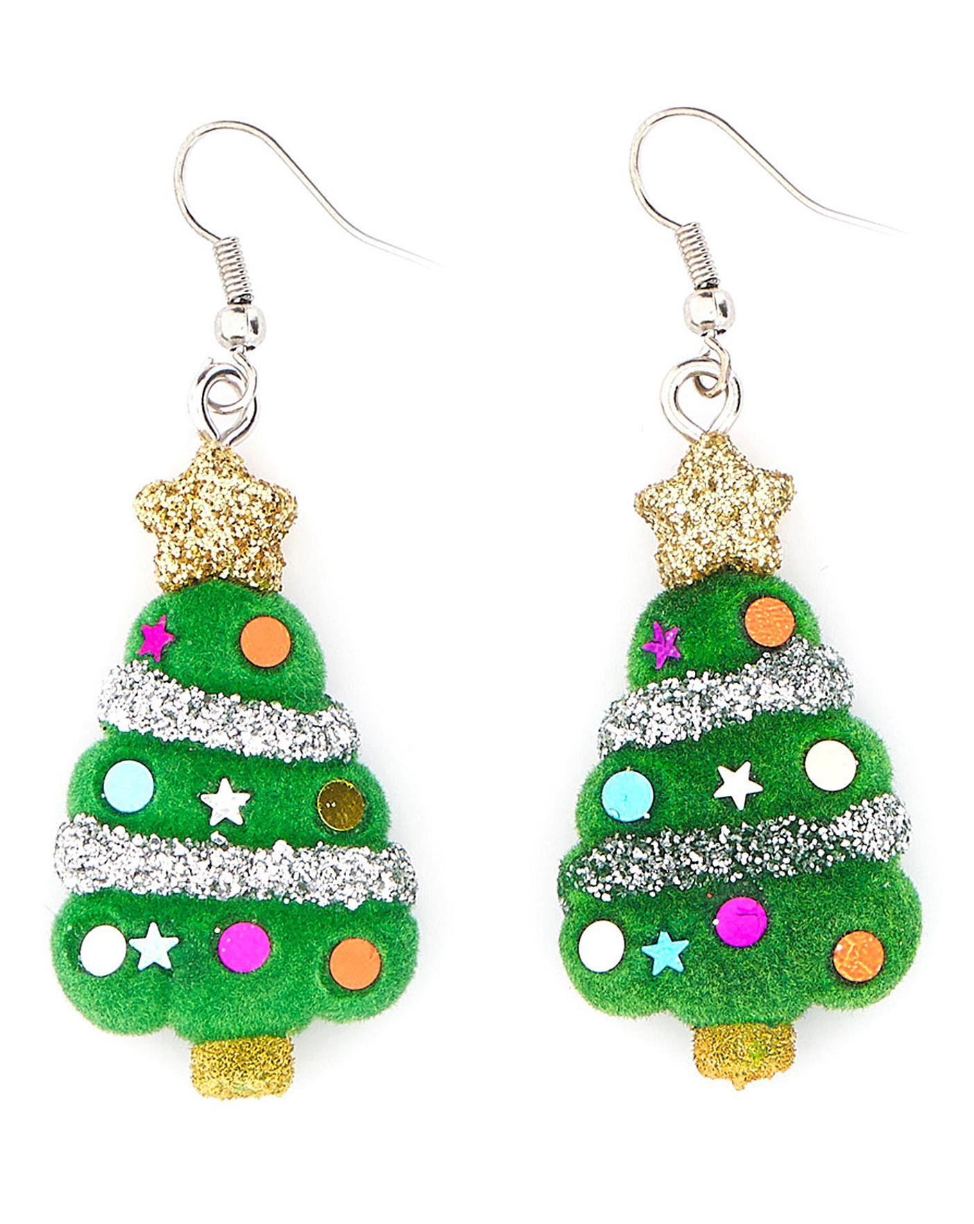 Christmas Tree Earring Home Beauty Gift Shop