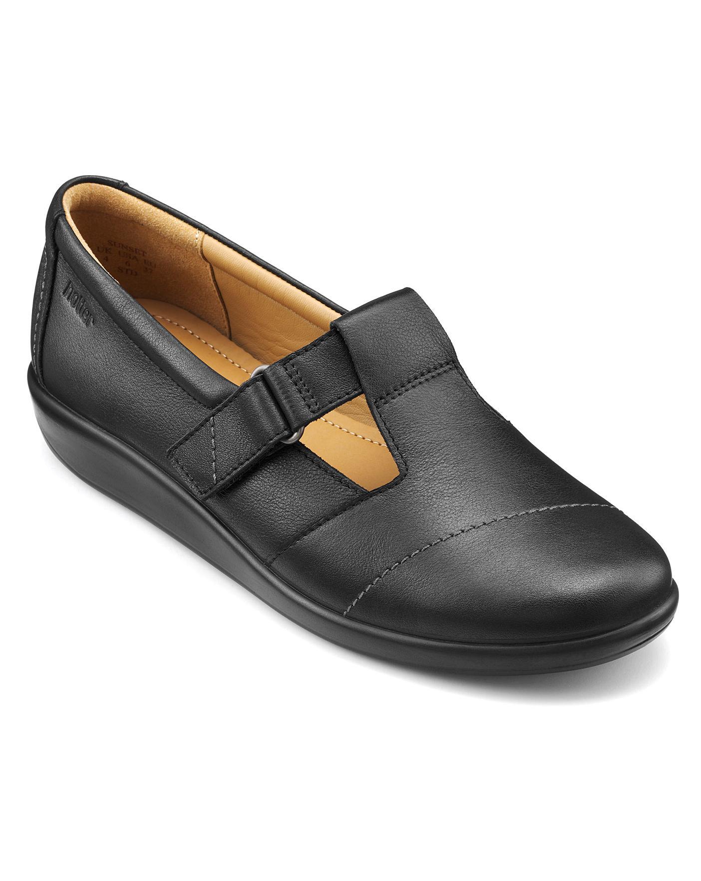 Hotter Sunset Wide Fit Ladies Shoe | Jacamo