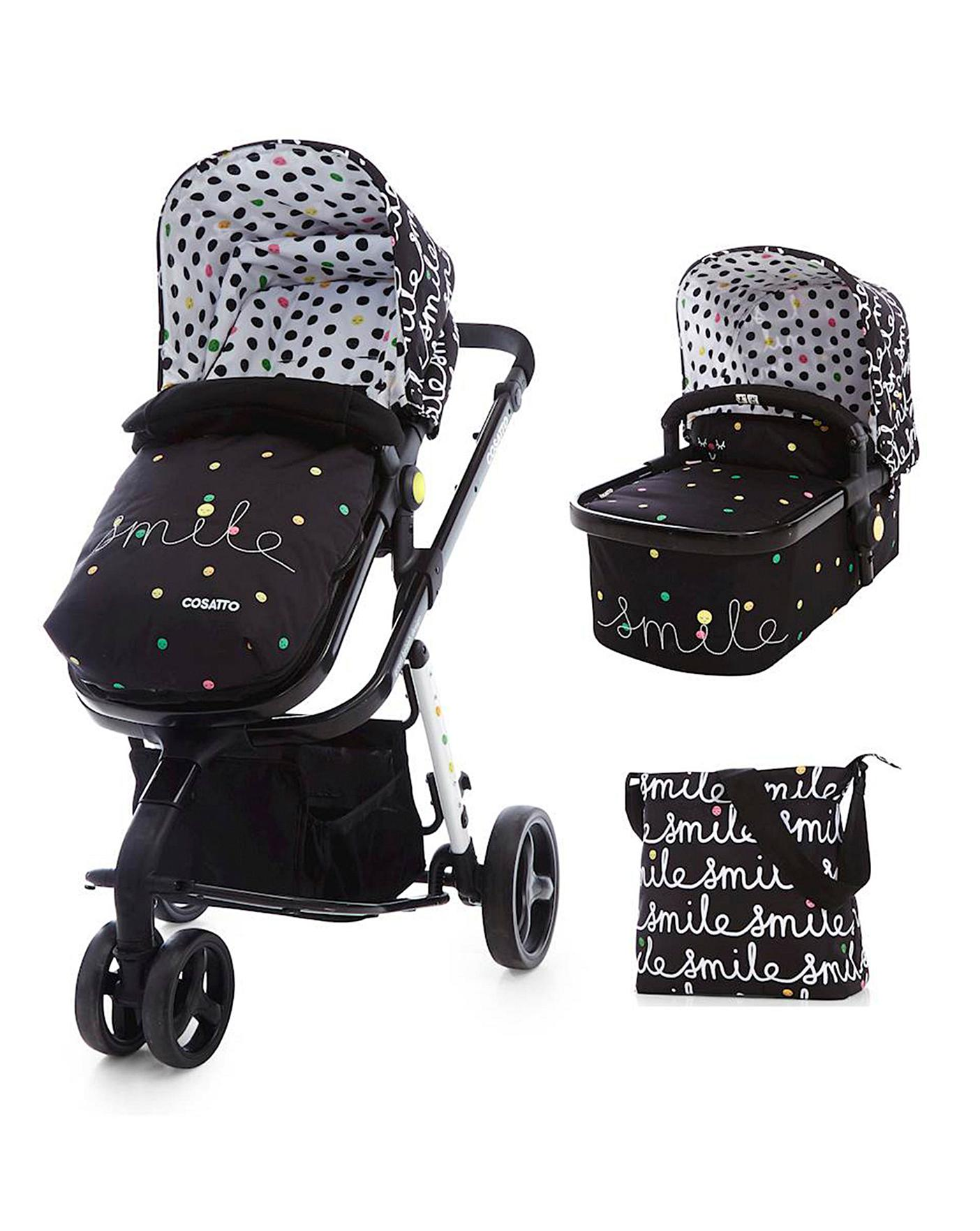 Raincover For Cosatto Ooba Carrycot 198