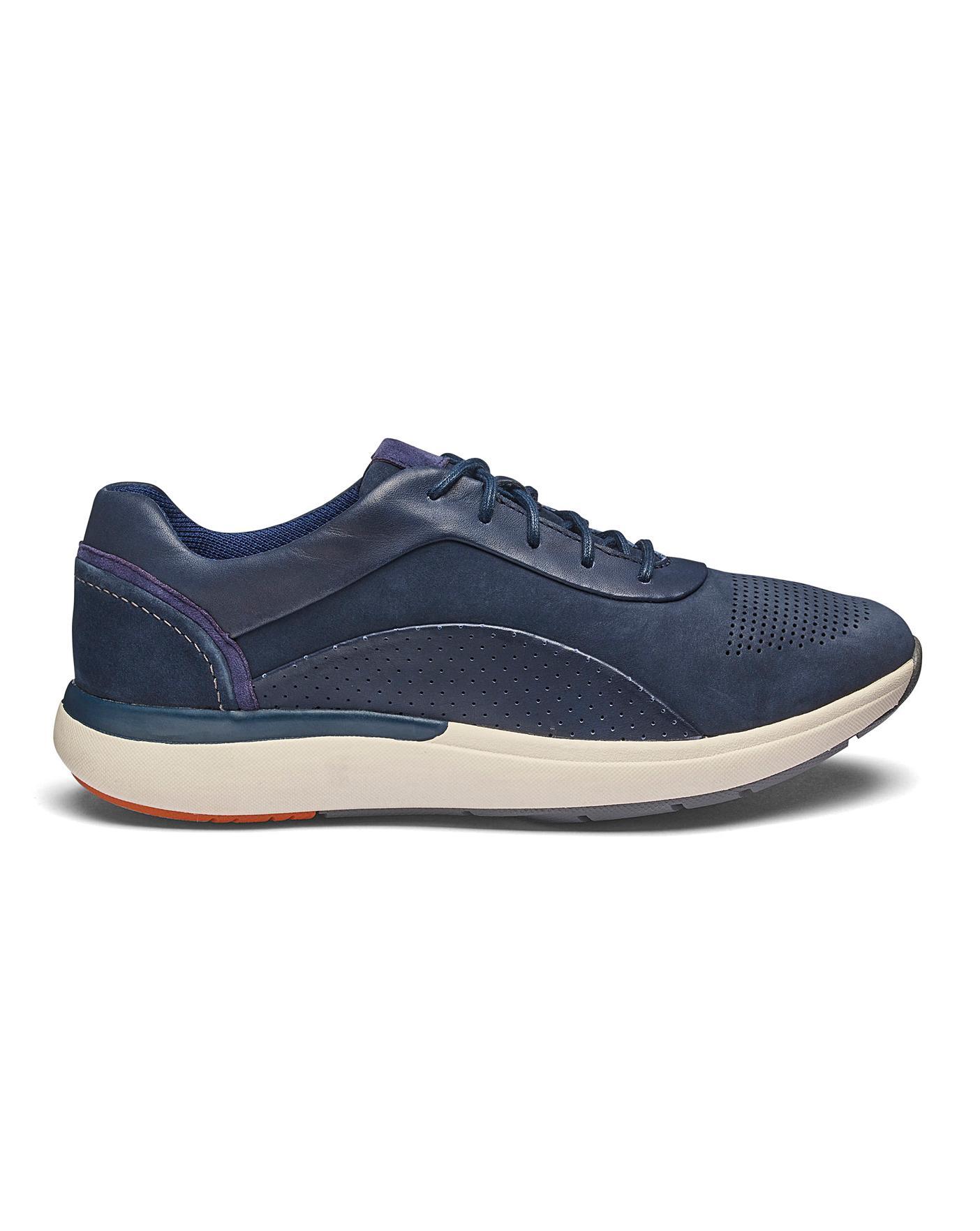 Clarks Un Cruise Lace Shoes D Fit