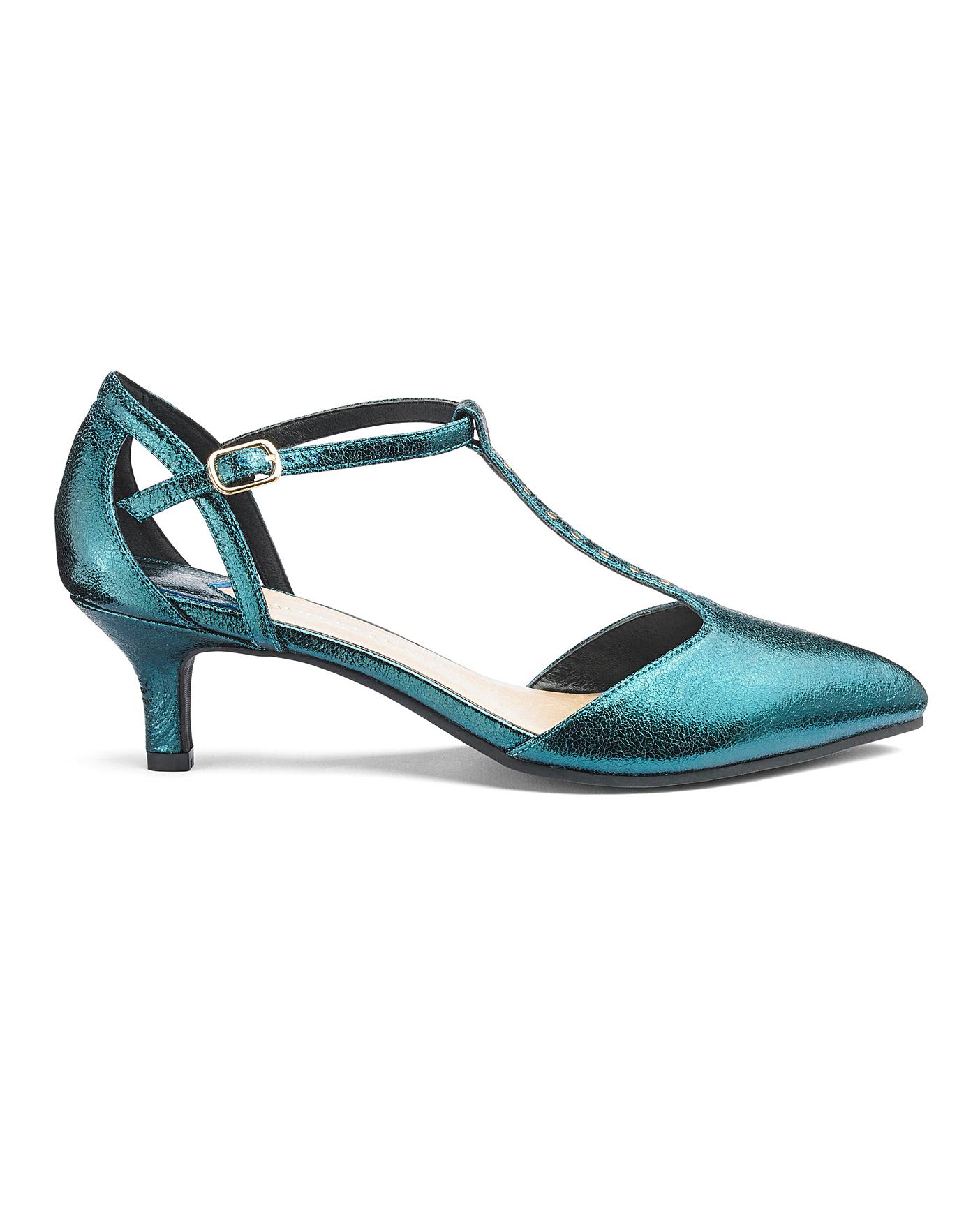 crazy price quality design check out Kitten Heel T Bar Shoes EEE Fit | Crazy Clearance