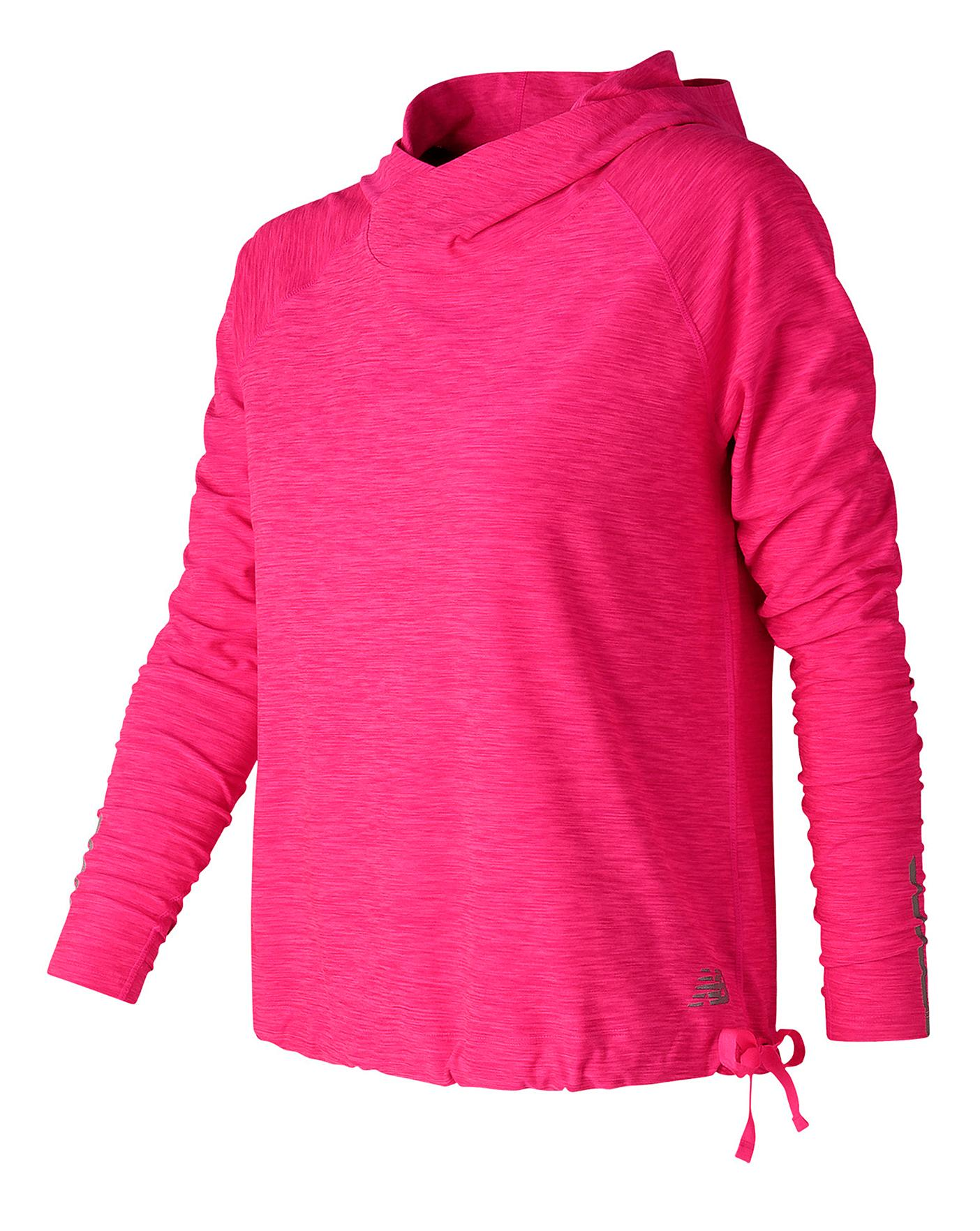 9e3036e5e2711 NEW BALANCE IN TRANSIT HOODED PULLOVER | Simply Be