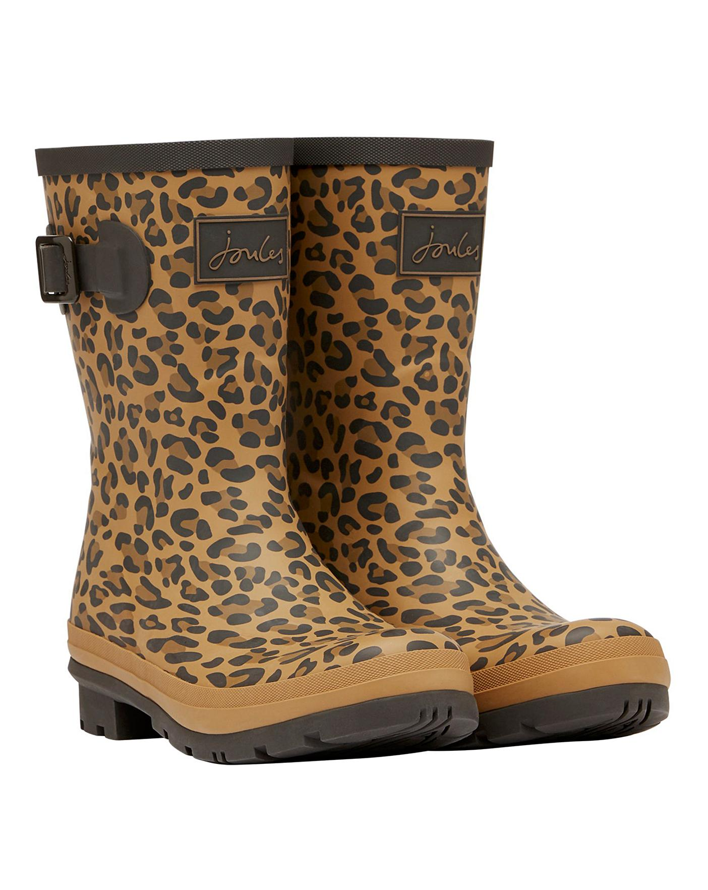 joules leopard print shoes