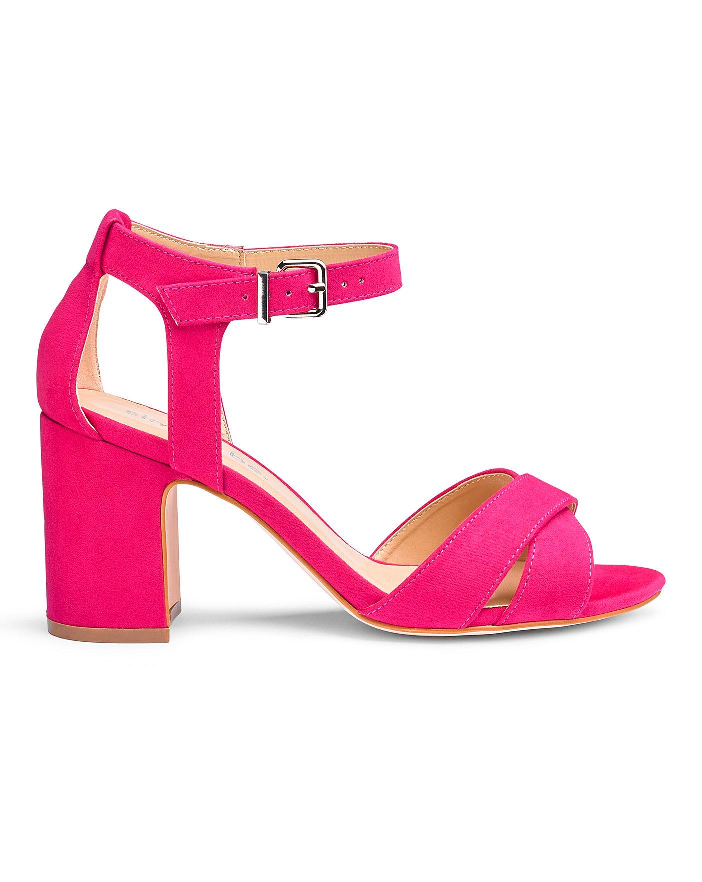 Helen Mid Block Heel Wide Fit | J D