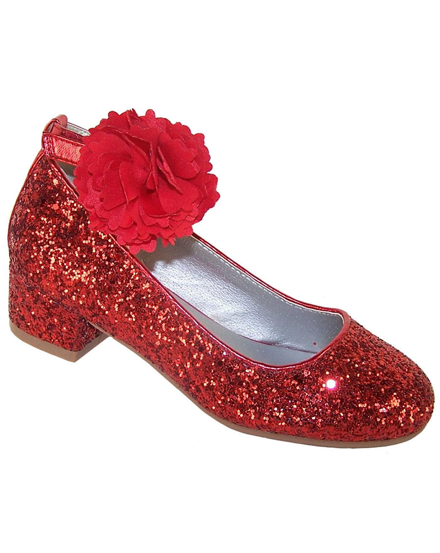 ec247e43189 Sparkle Club Red Glitter Shoes