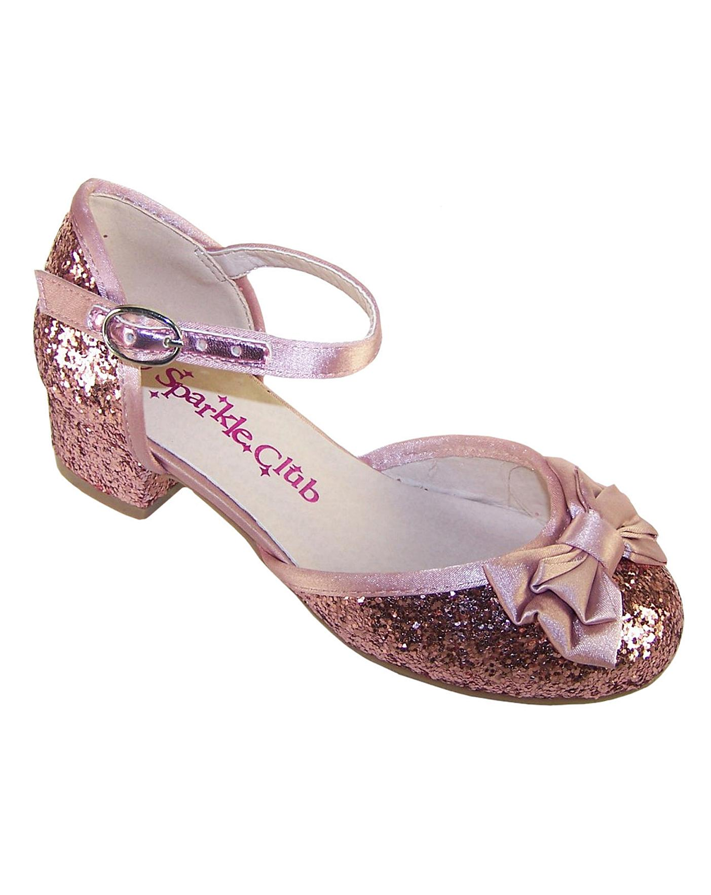 2d3bb9febfbd Sparkle Club Pink Glitter Shoes