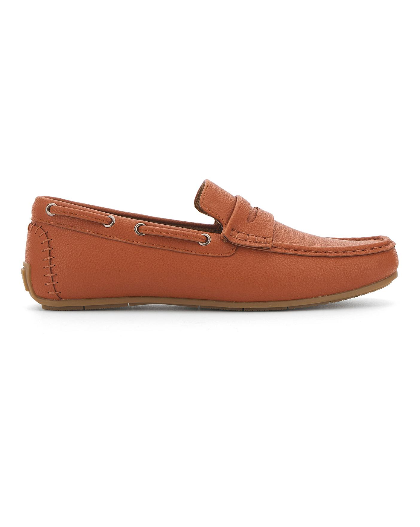 Colbert Leather Look Driving Loafer
