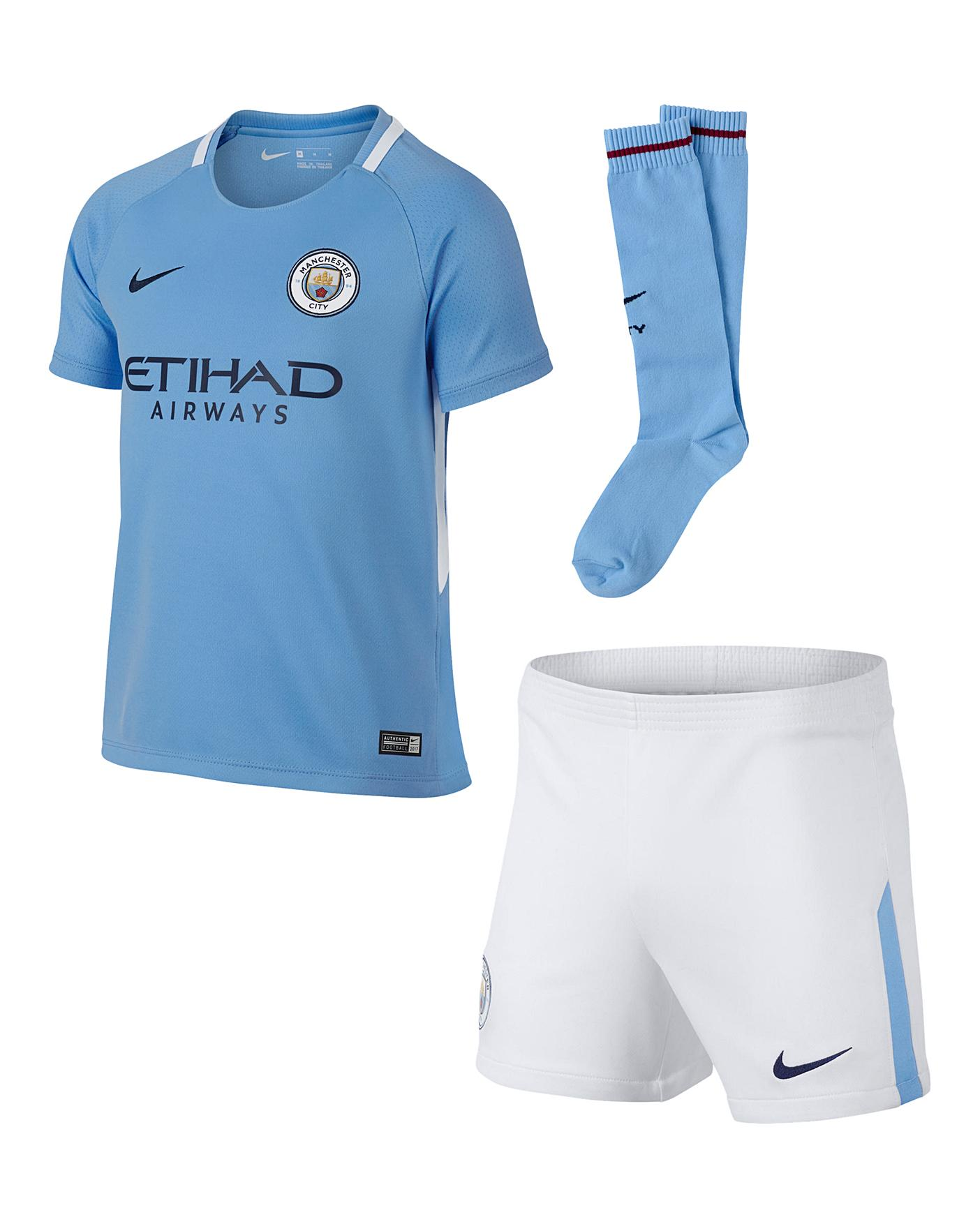 Nike Boys Mcfc Kit J D Williams