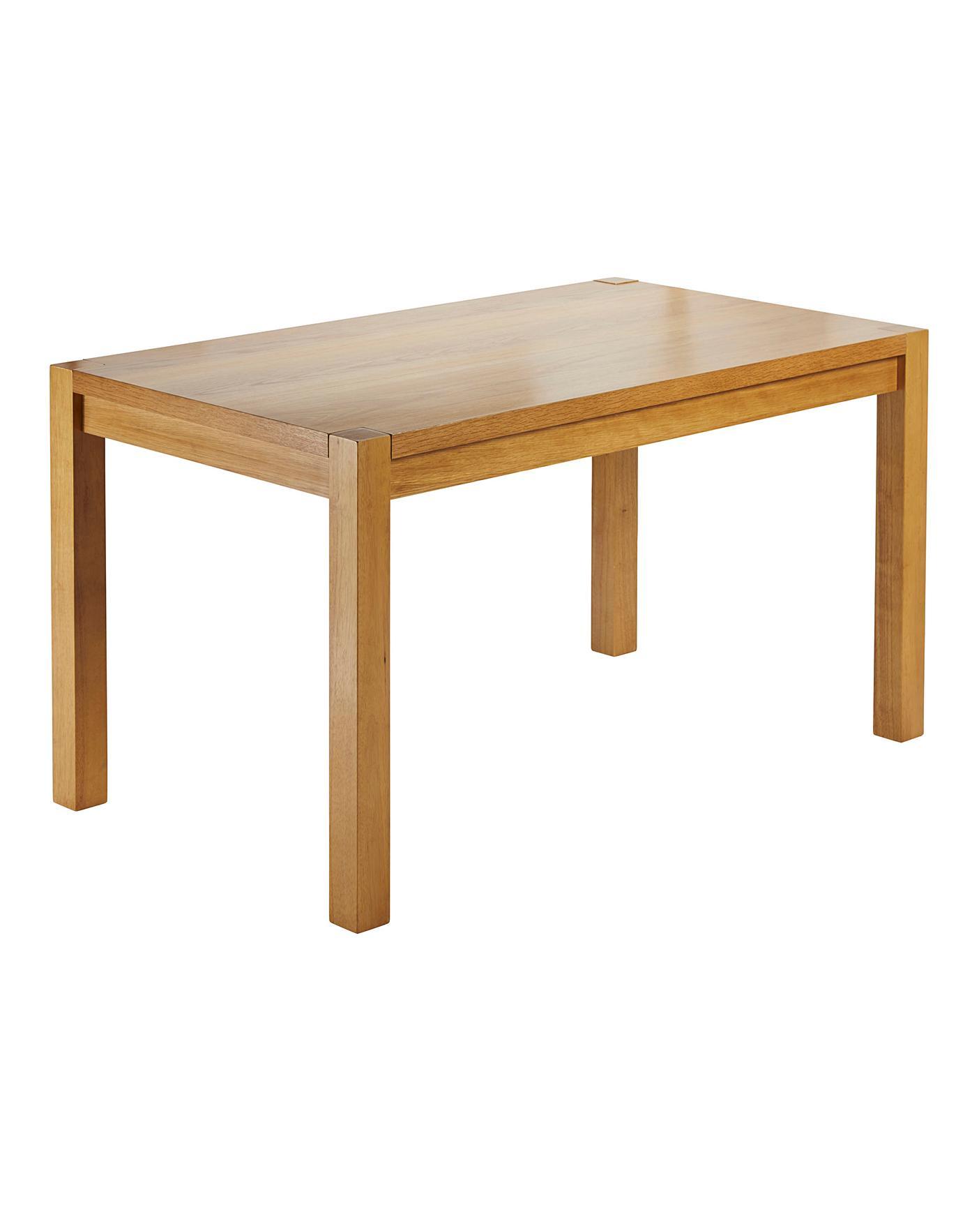 Oakham Oak Veneer Large Dining Table