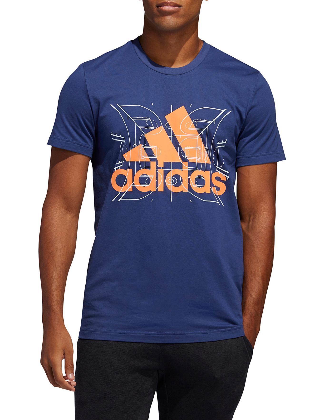 adidas basketball t shirt