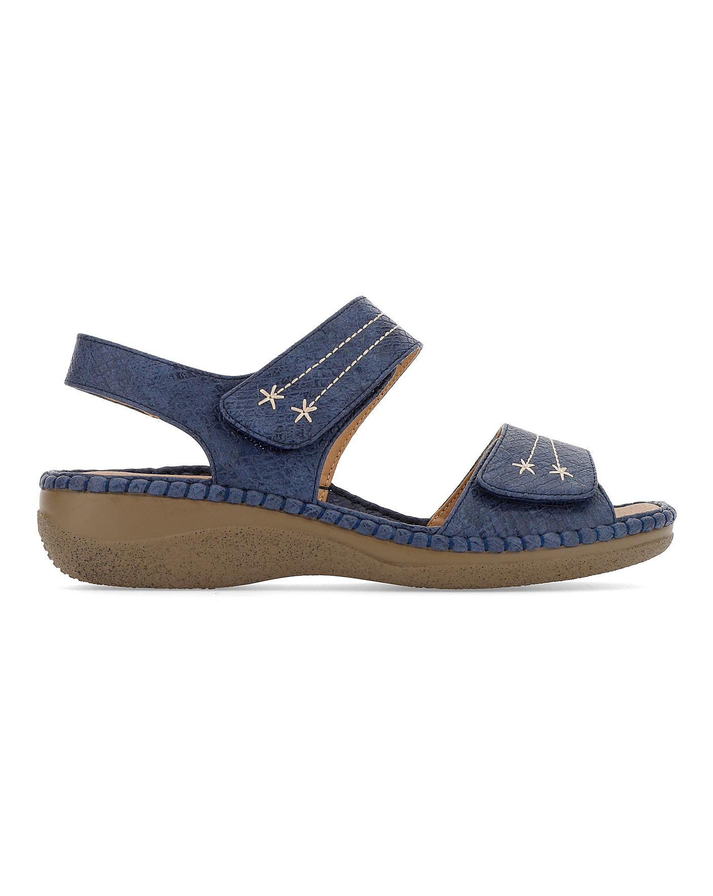 Cushion Walk Sandals EEE Fit | J D Williams