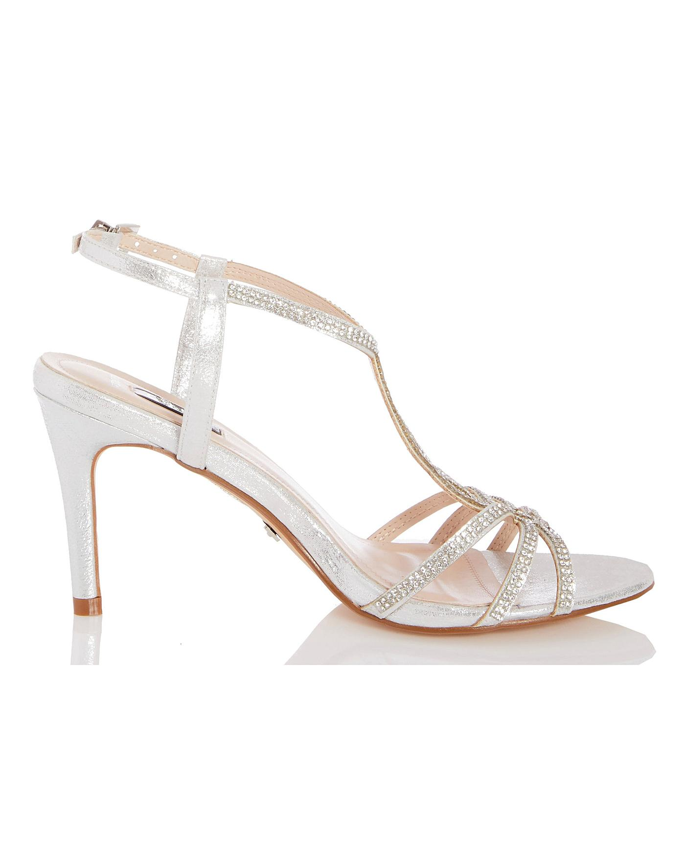 Quiz T Bar Occasion Sandals | Oxendales