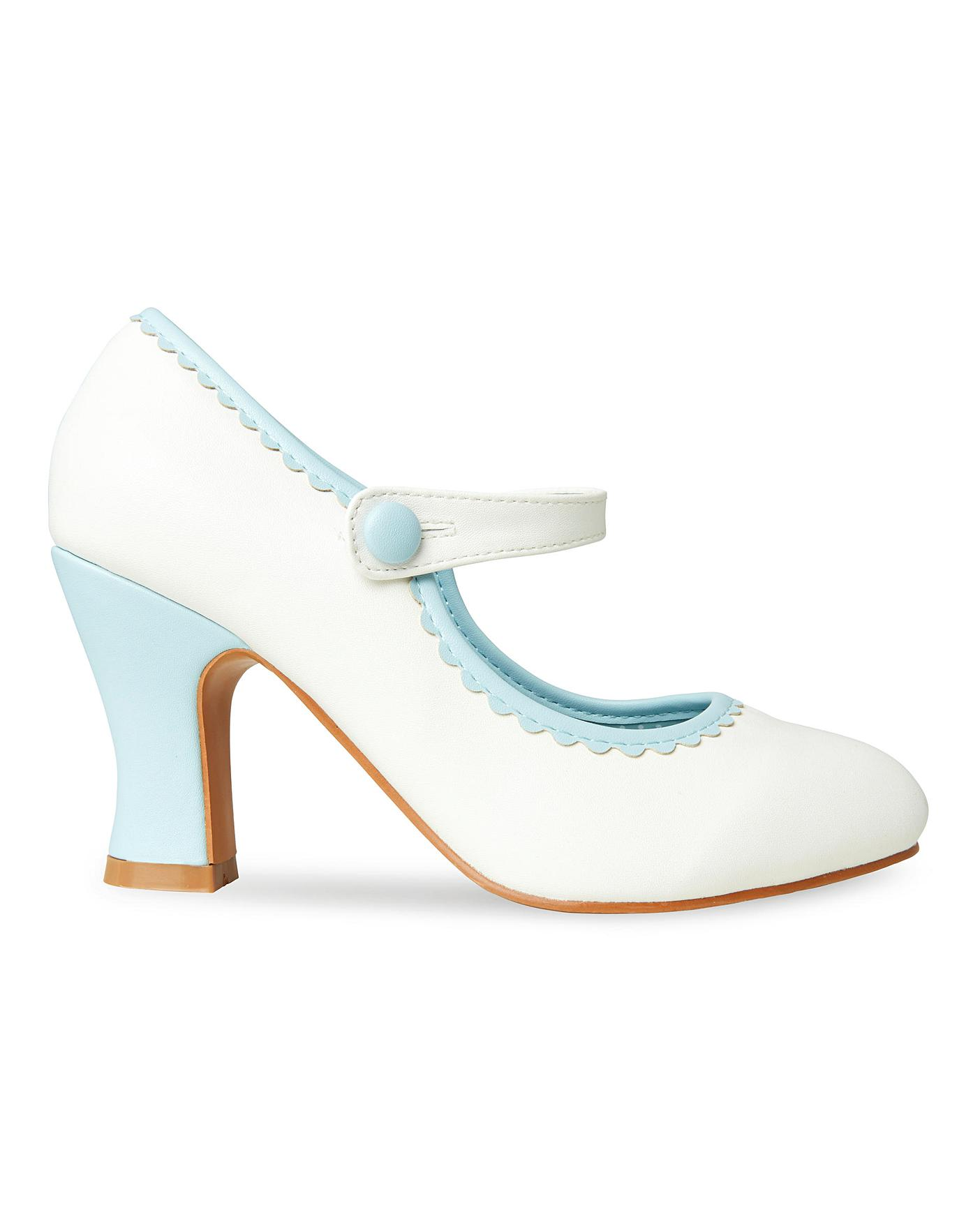 mary jane chaussure for wide feet