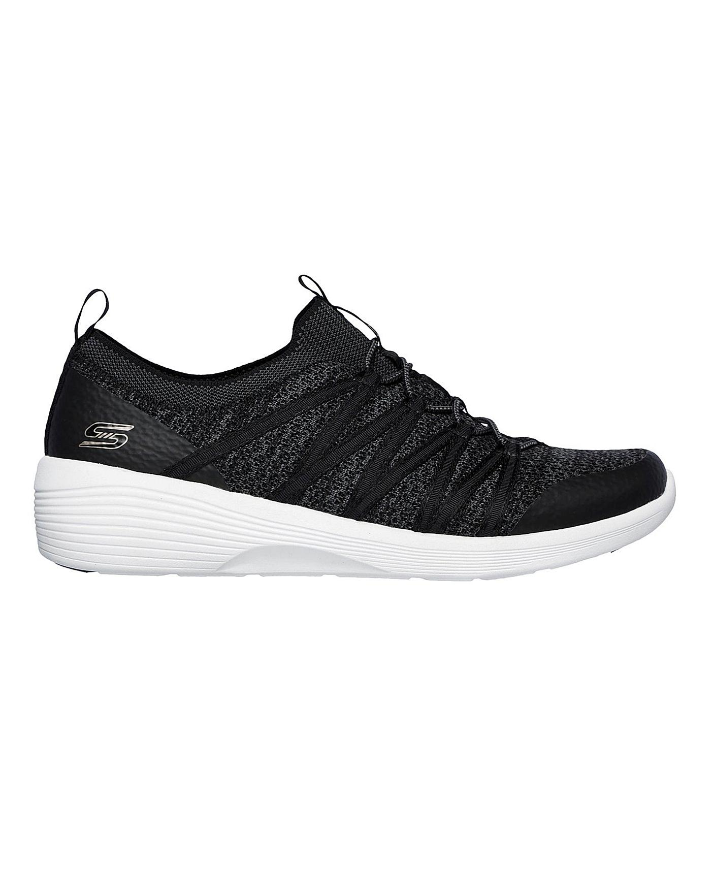 Skechers Slip on Leisure Shoes   Simply Be