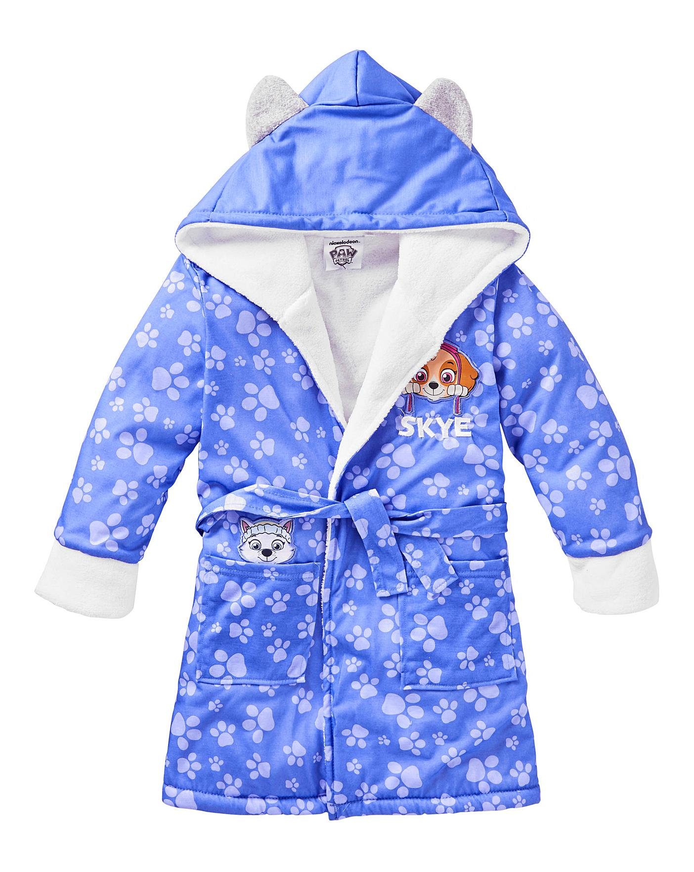 Paw Patrol Girls Dressing Gown