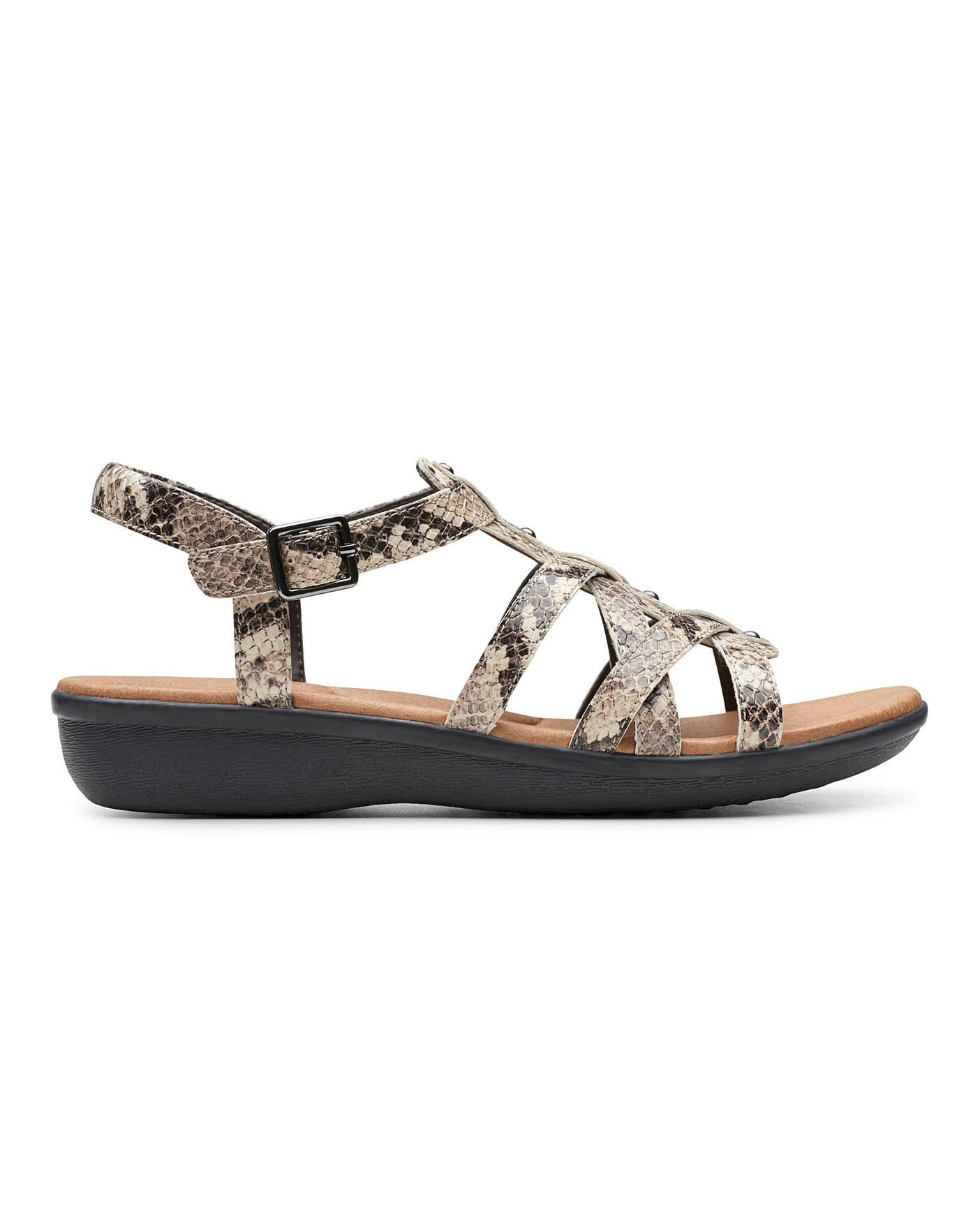 Clarks Sandals Standard D Fit | Simply Be