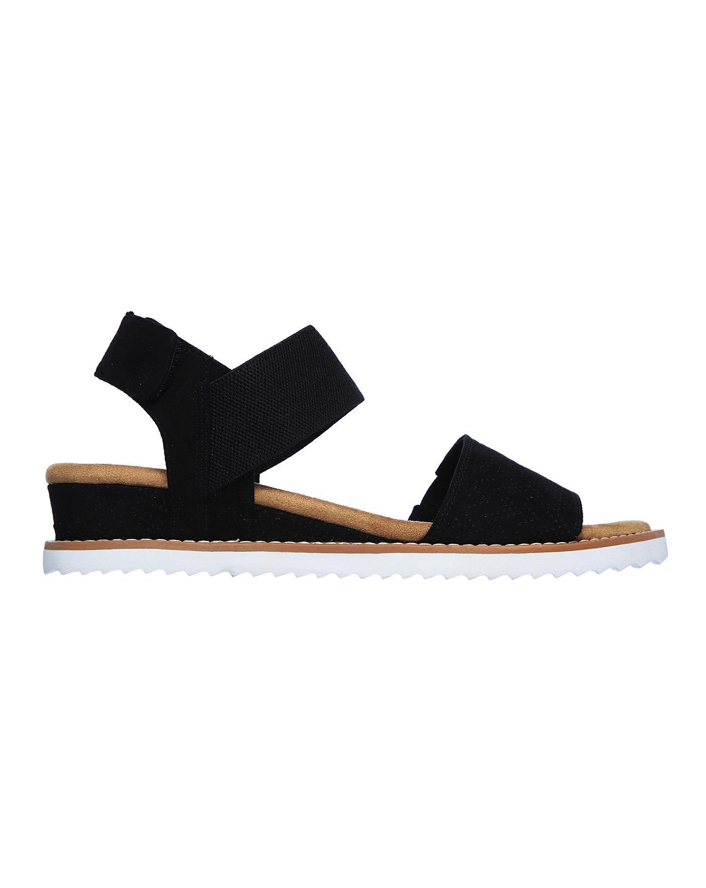 Skechers Flat Sandals   J D Williams