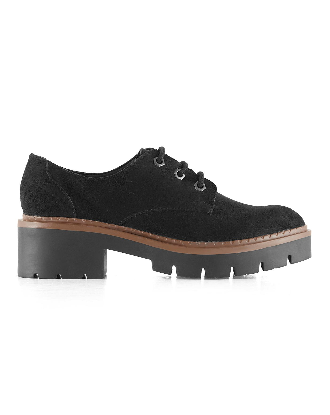 disgusting boss Beyond doubt  Quinn Lace Up Shoes Wide Fit | Simply Be