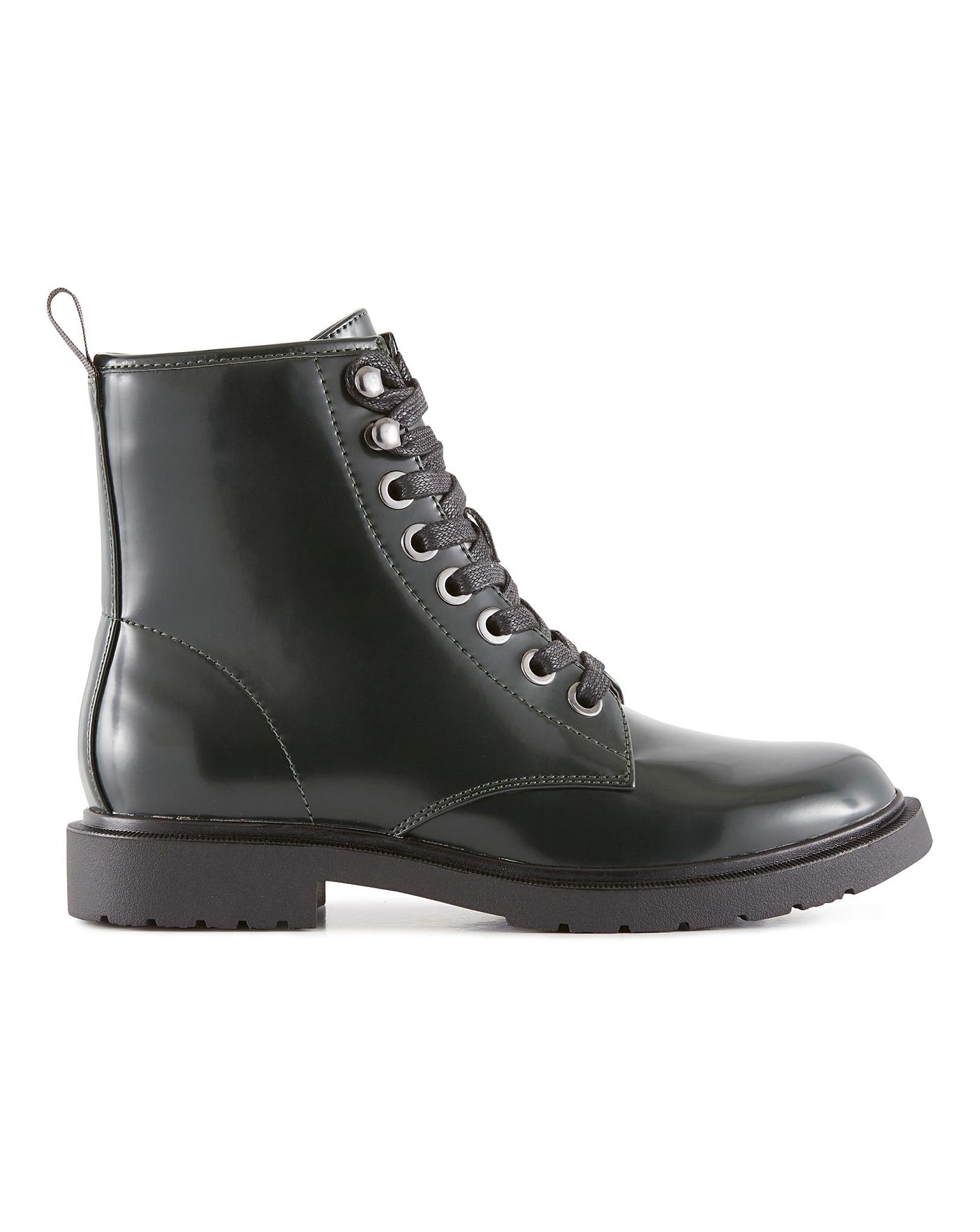 Tulip Ankle Boots Extra Wide Fit