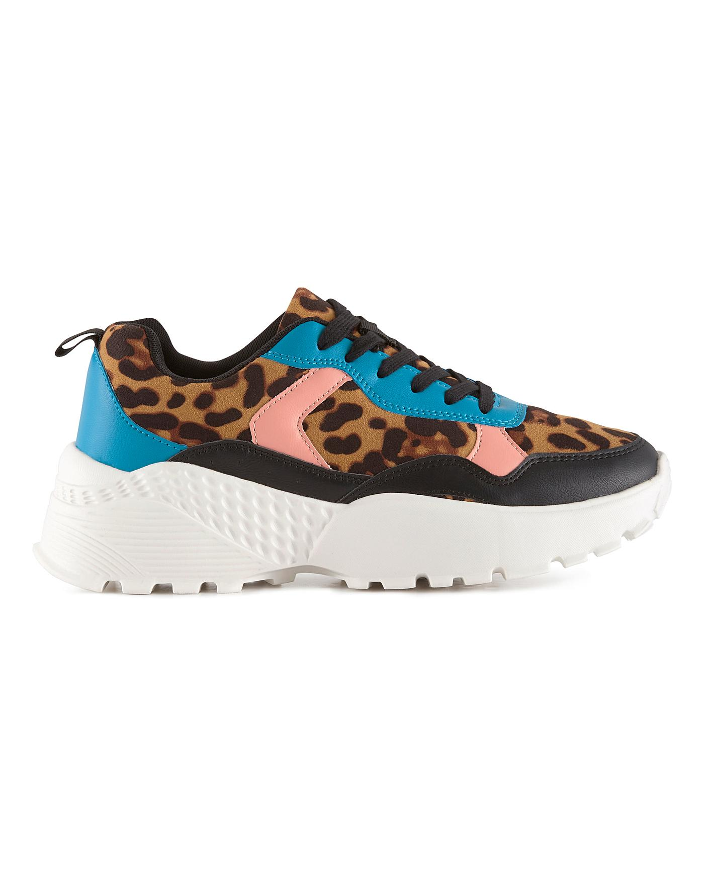 Babette Chunky Trainers Wide Fit