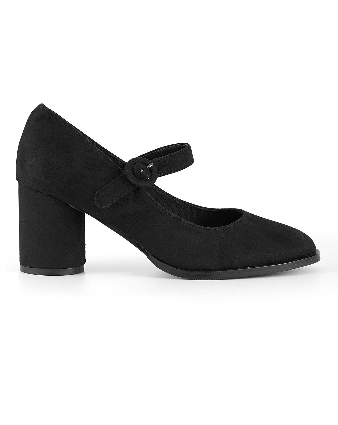 Jennifer Mary Jane Shoes Extra Wide Fit