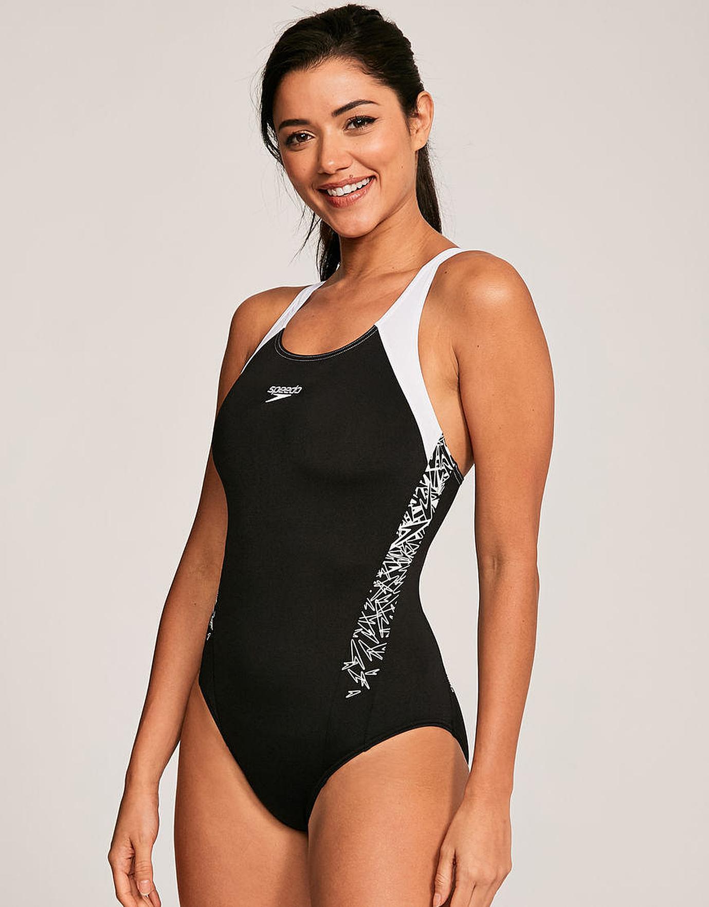 Speedo Damen Boom Splice Muscle Back Swimsuit