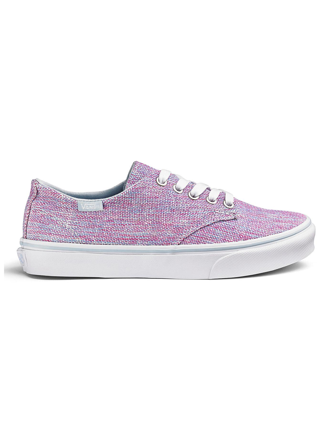 save up to 80% how to orders colours and striking Vans Camden Jute Ladies Trainers