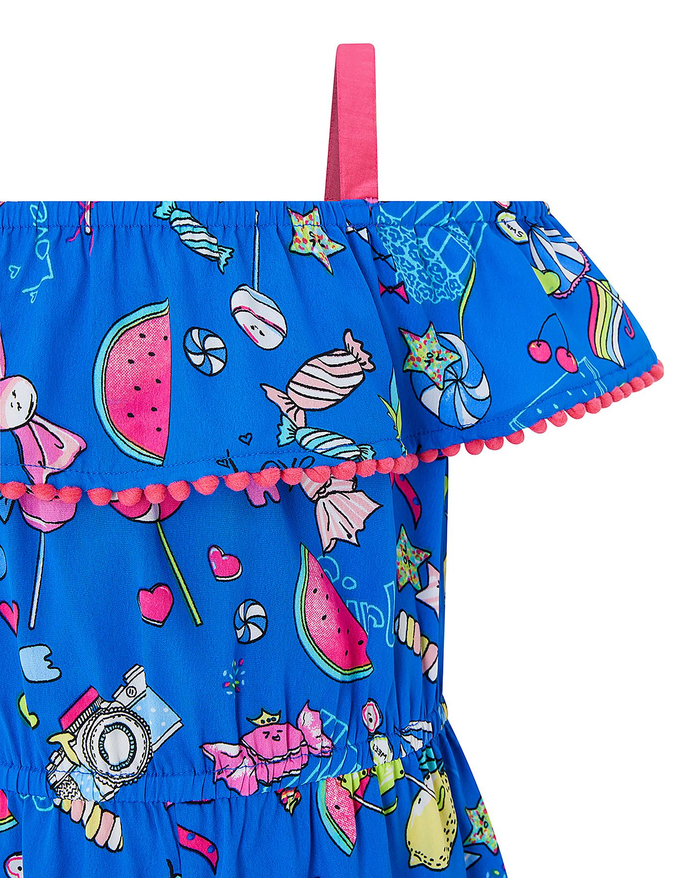13a1115c6553c Monsoon Marlin Pompom Playsuit | The Kids Division