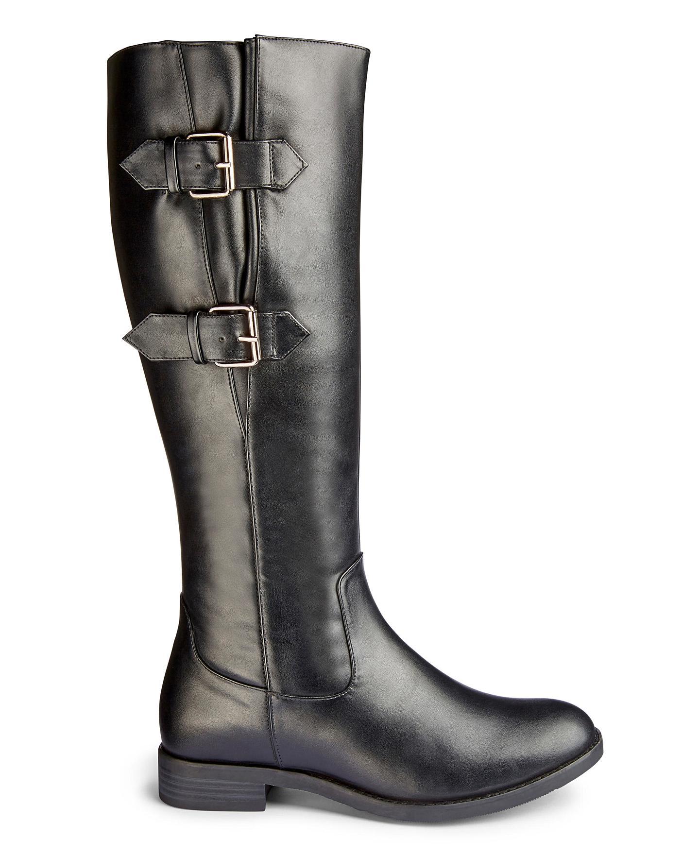 Buckle Boots EEE Fit Standard Calf