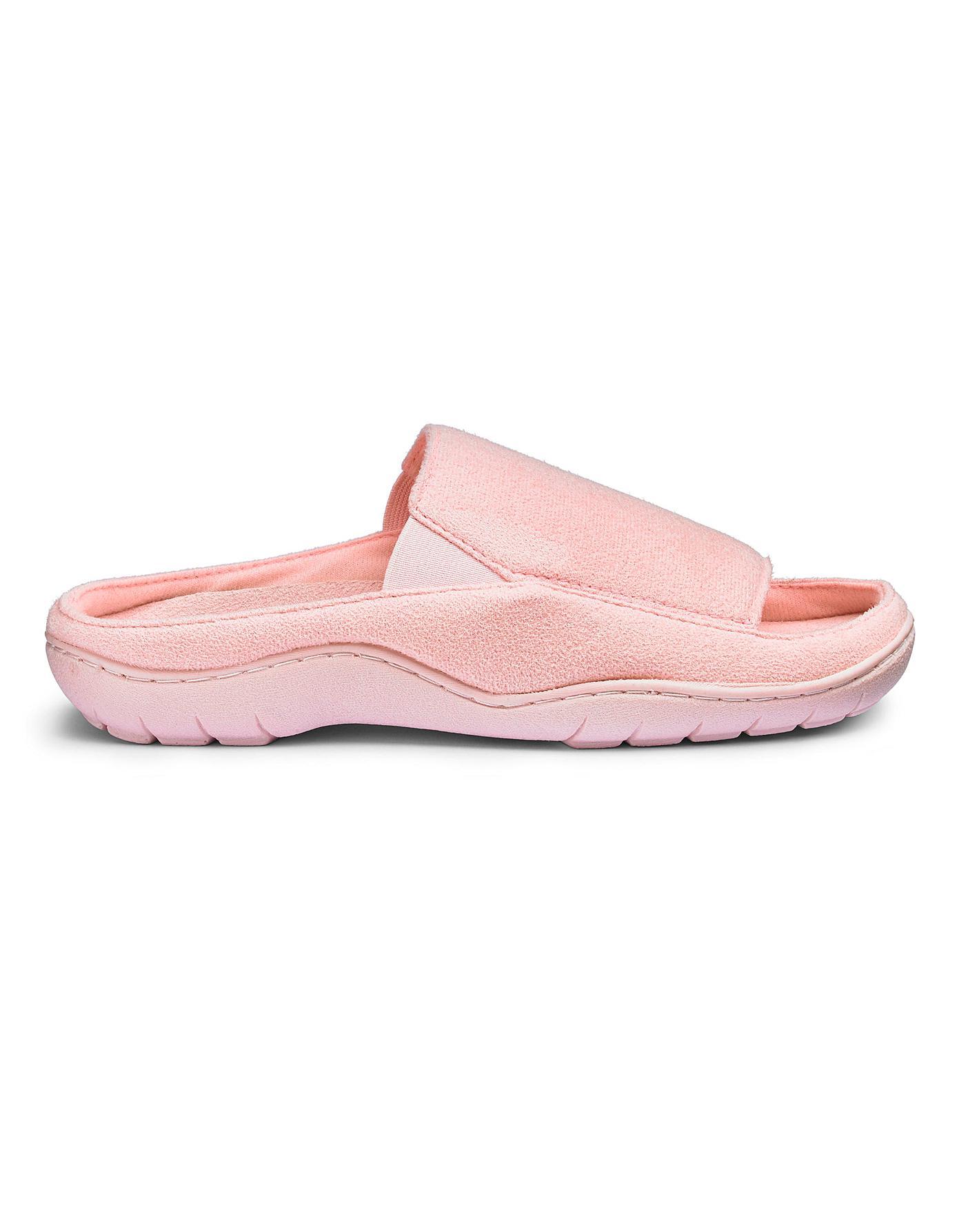 womens open toe mule slippers