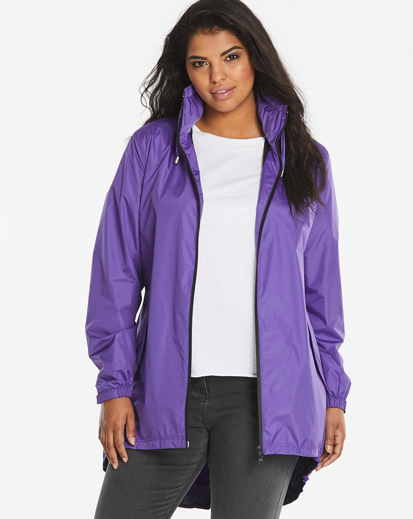 607403d859bc Shower Resistant Lightweight Parka | Simply Be