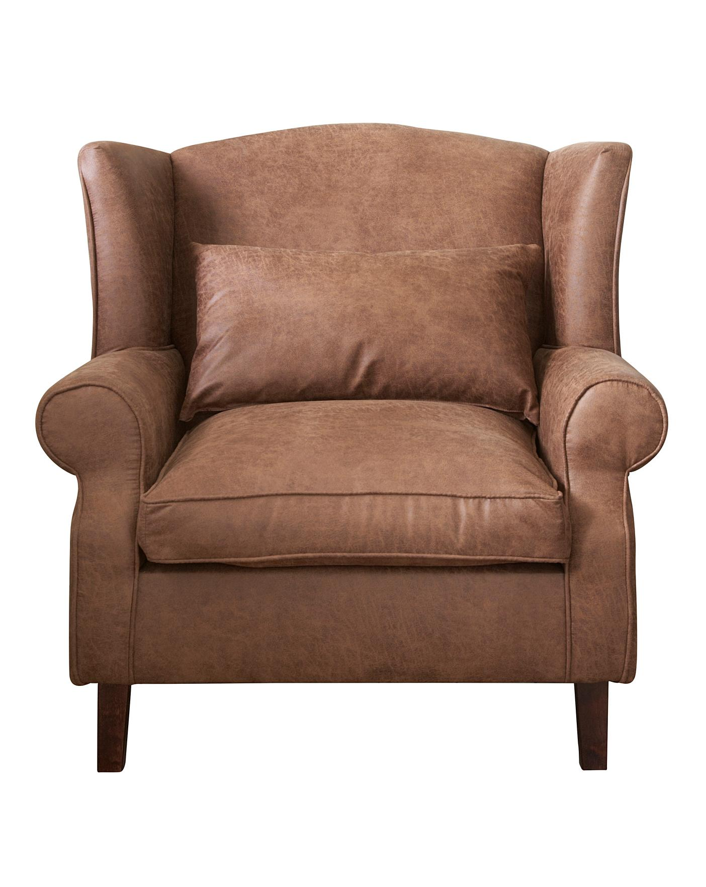 Holmfirth Wing Chair J D Williams