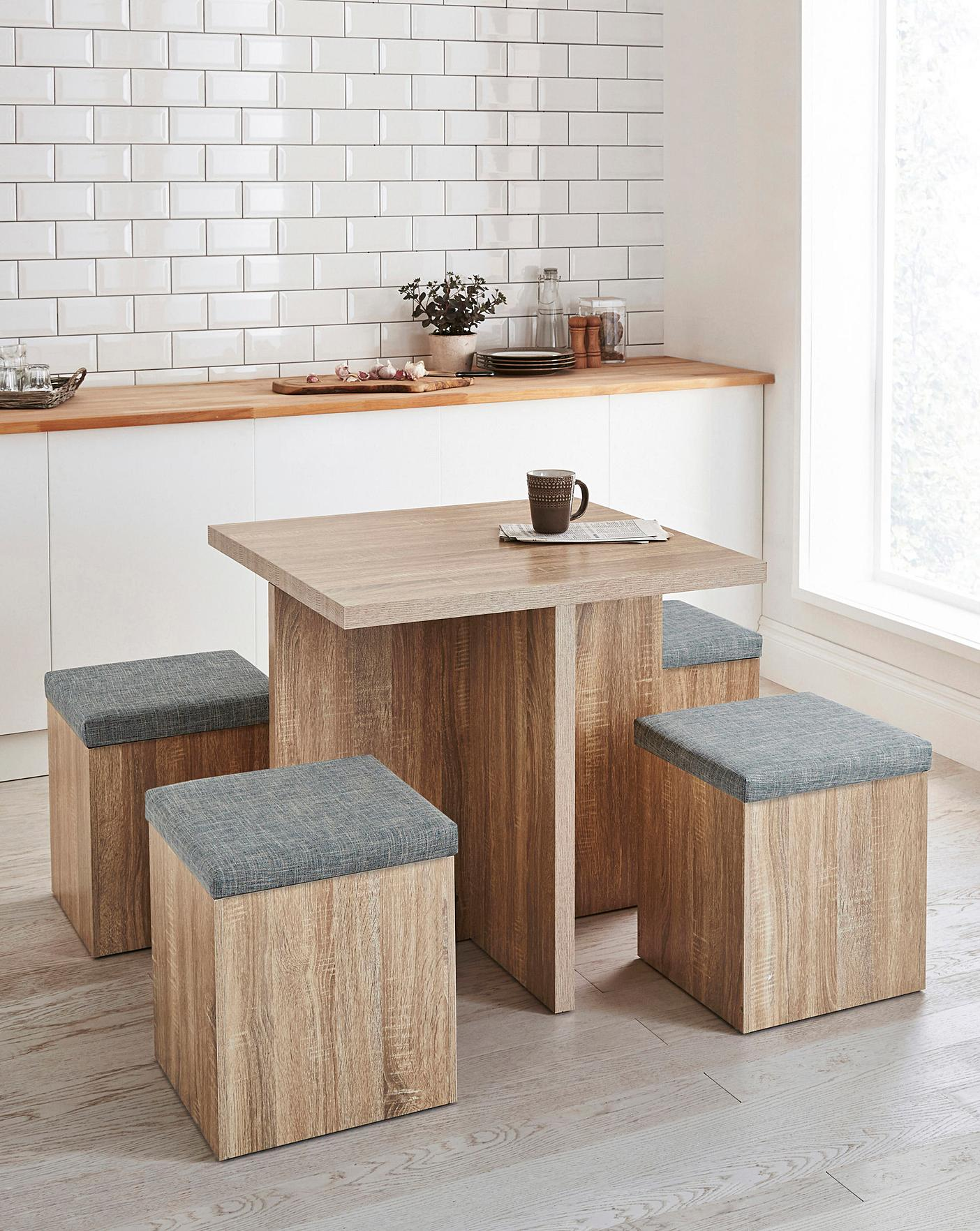 Hideaway Table And Chairs Dining Set Design Ideas