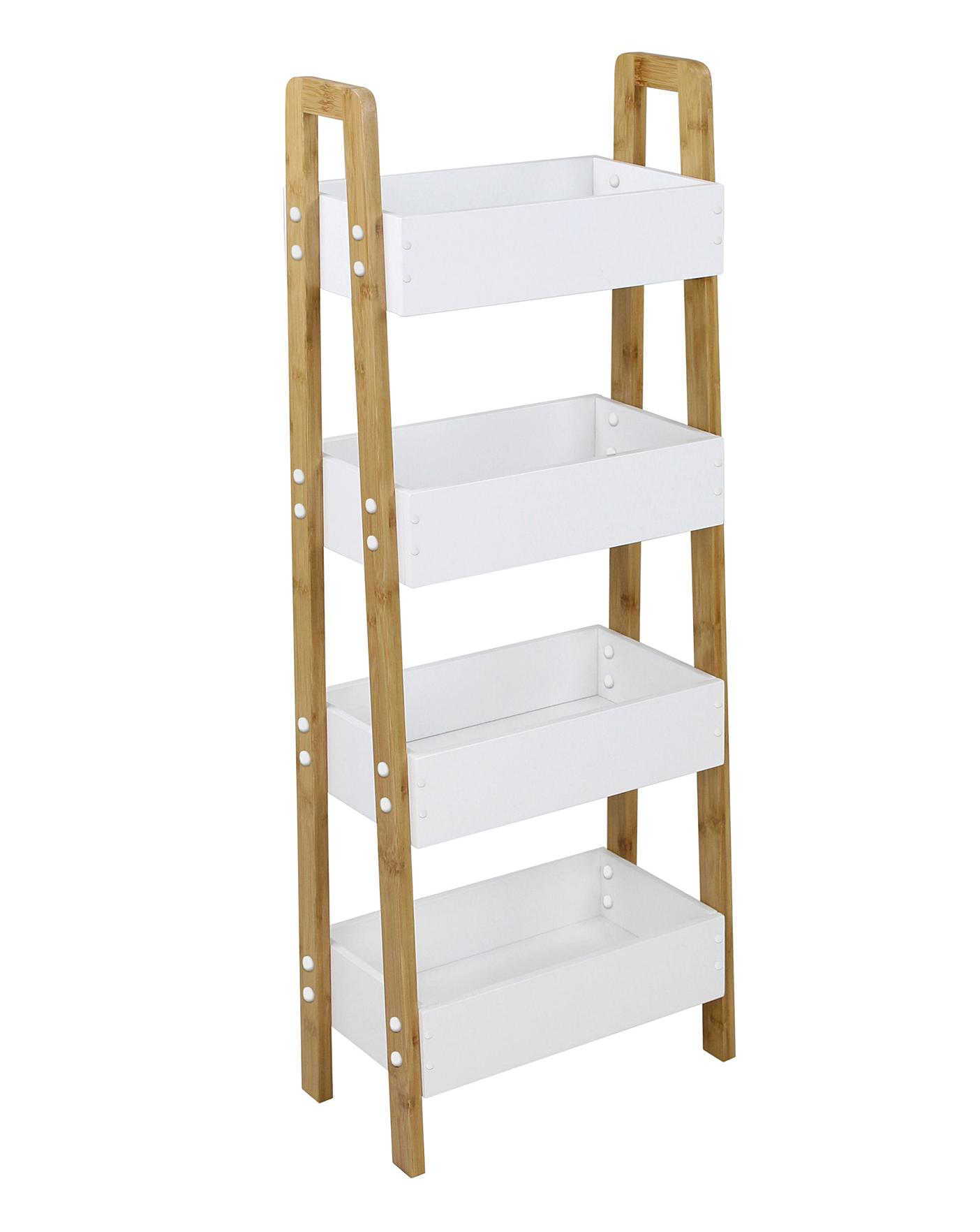 Maya Bamboo Tall Kitchen Storage Unit