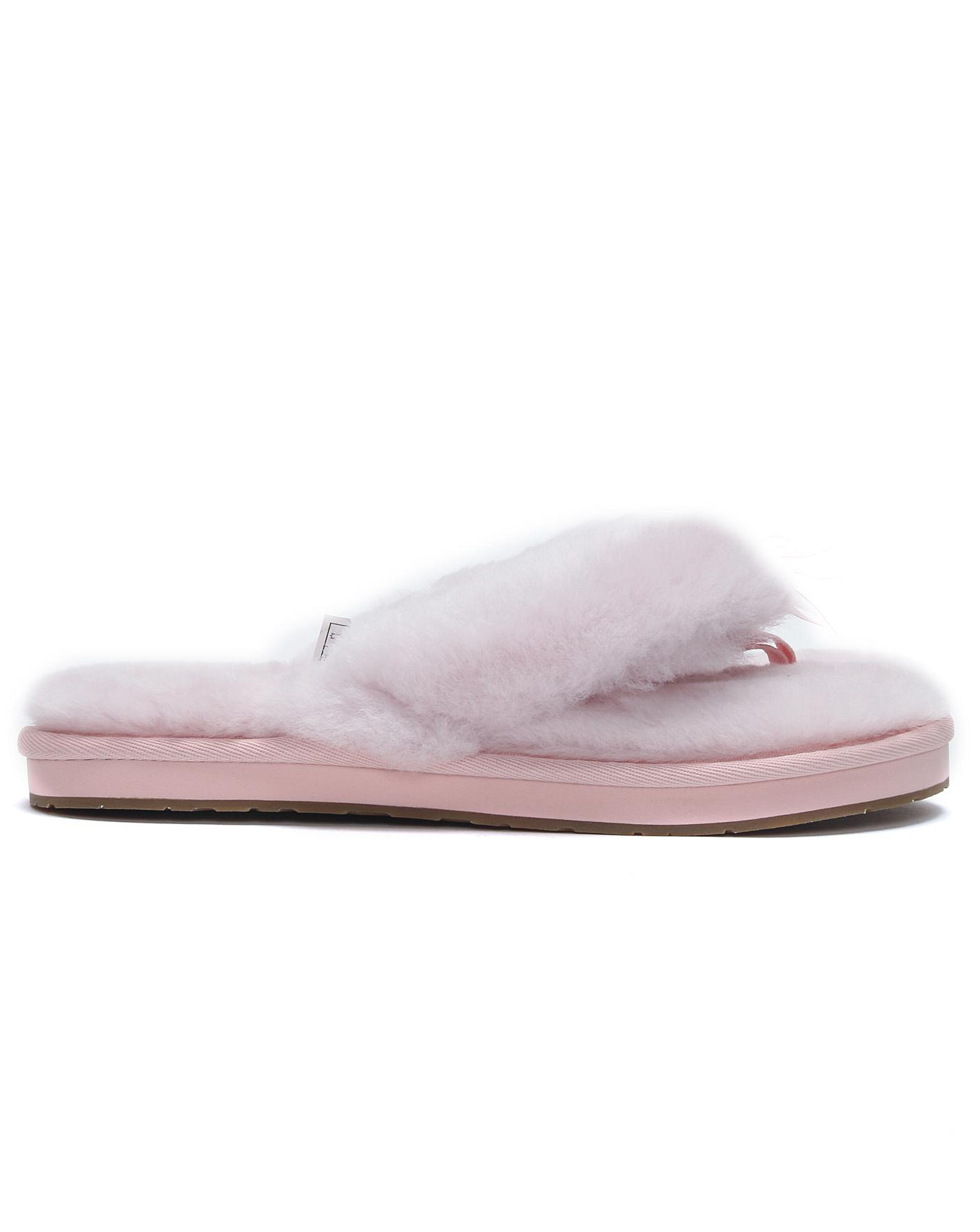 e5300e900 UGG Fluff II Flip Flop Slippers | Simply Be