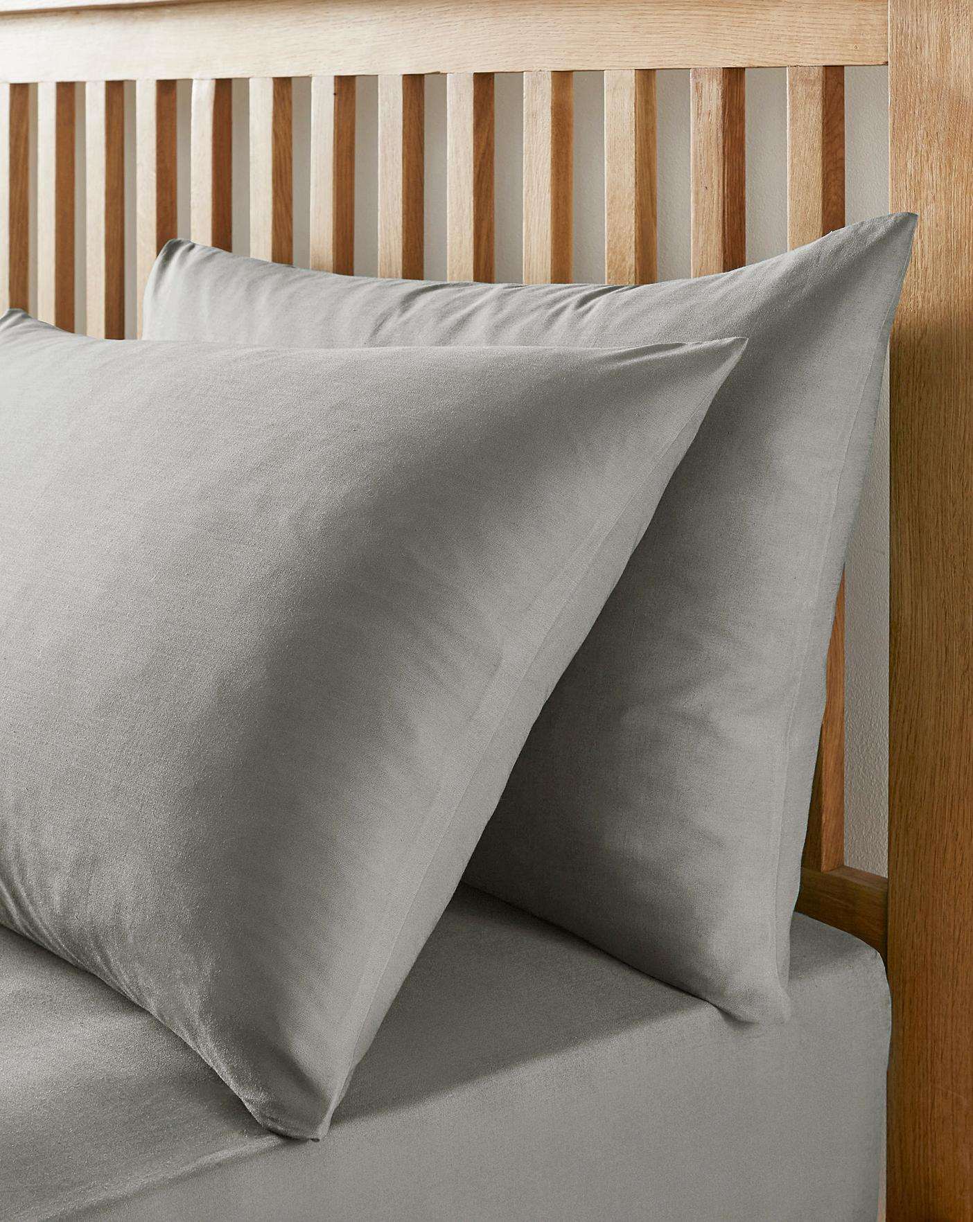 Easy Care BASE VALANCE Polycotton Bed Sheets or 2 Pillow cases