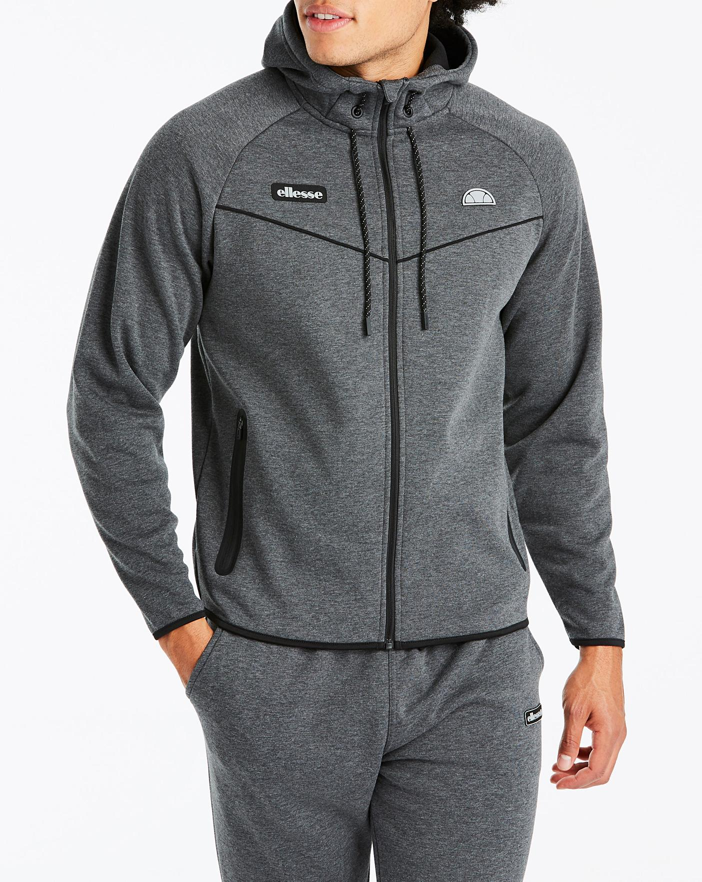8fd9aad6 Ellesse Restaro Full Zip Hooded Jacket
