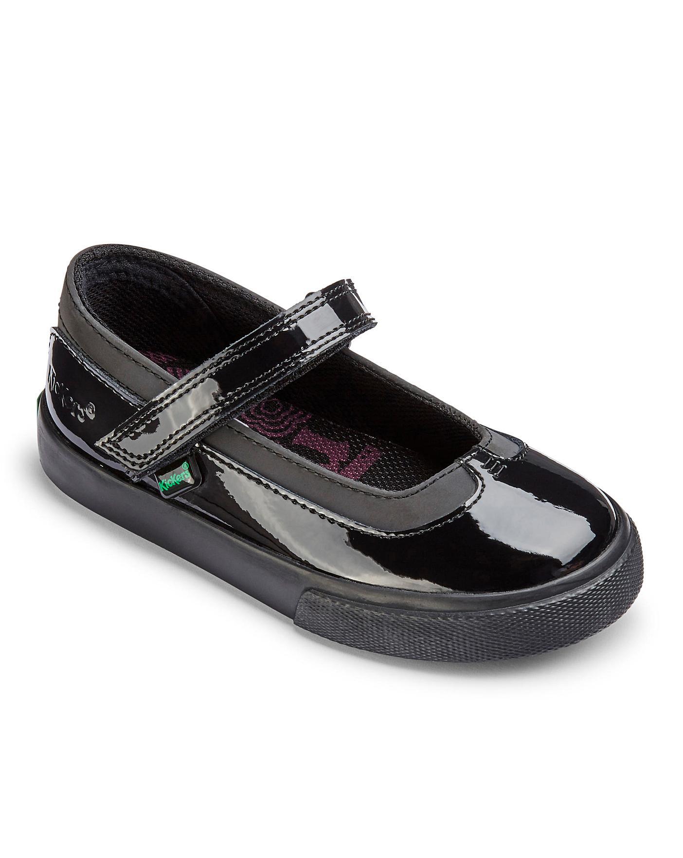 Kickers Tovni Mary Jane Patent Shoe
