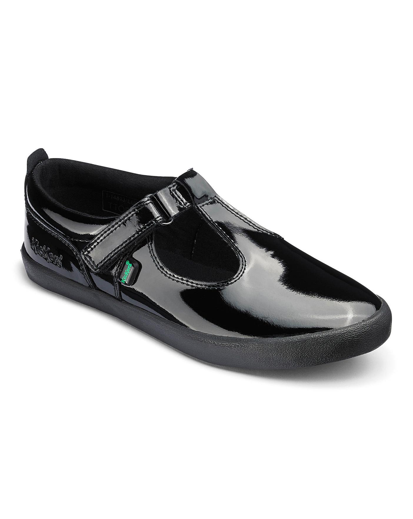 Kickers Kariko T-Bar Shoes | Oxendales