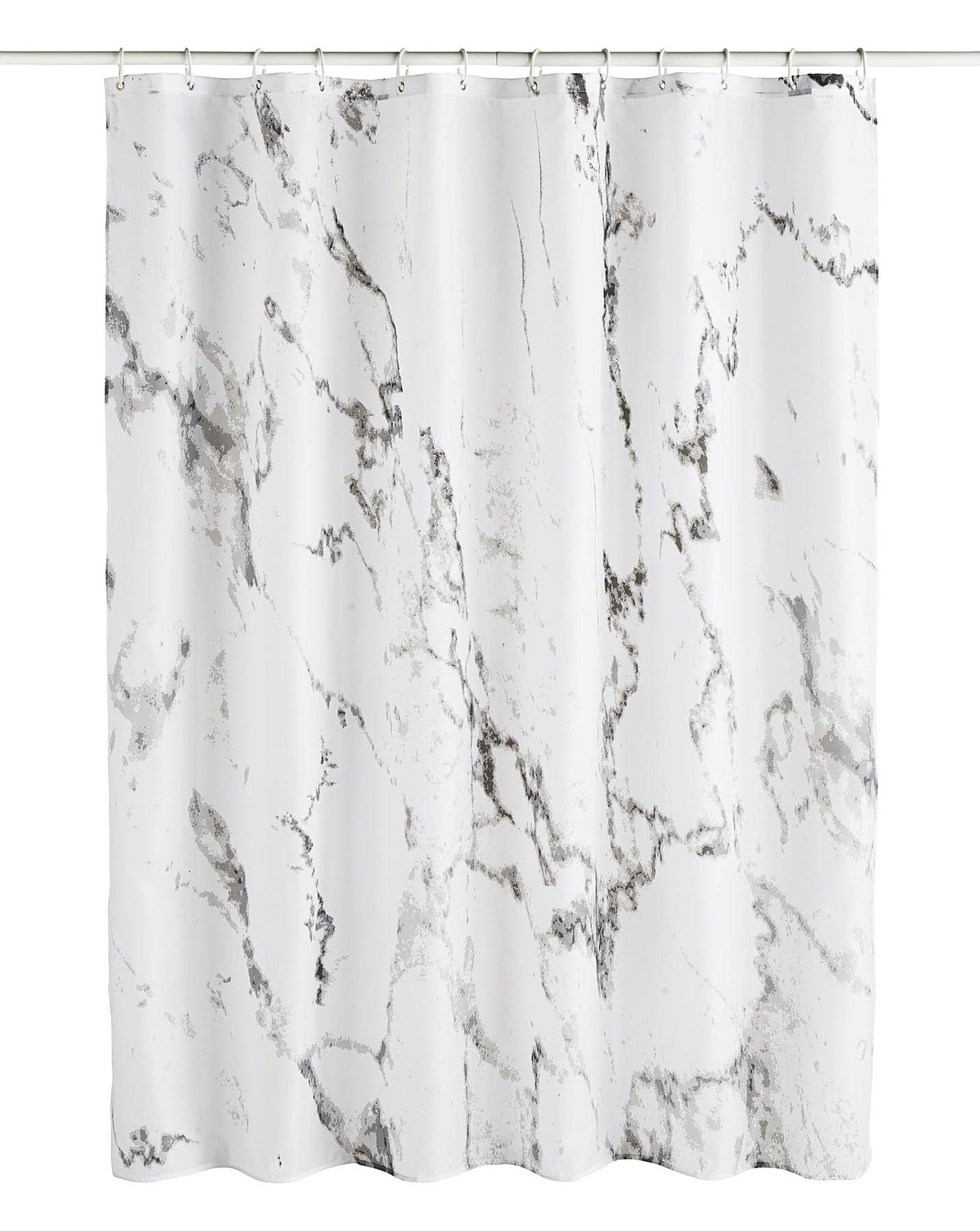 Marble Shower Curtain Oxendales
